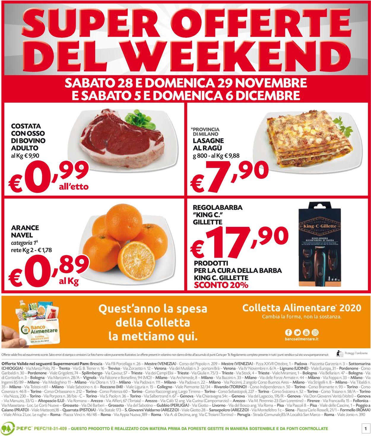 Volantino Pam Panorama - Black Friday 2020 - Offerte 26/11-06/12/2020 (Pagina 16)