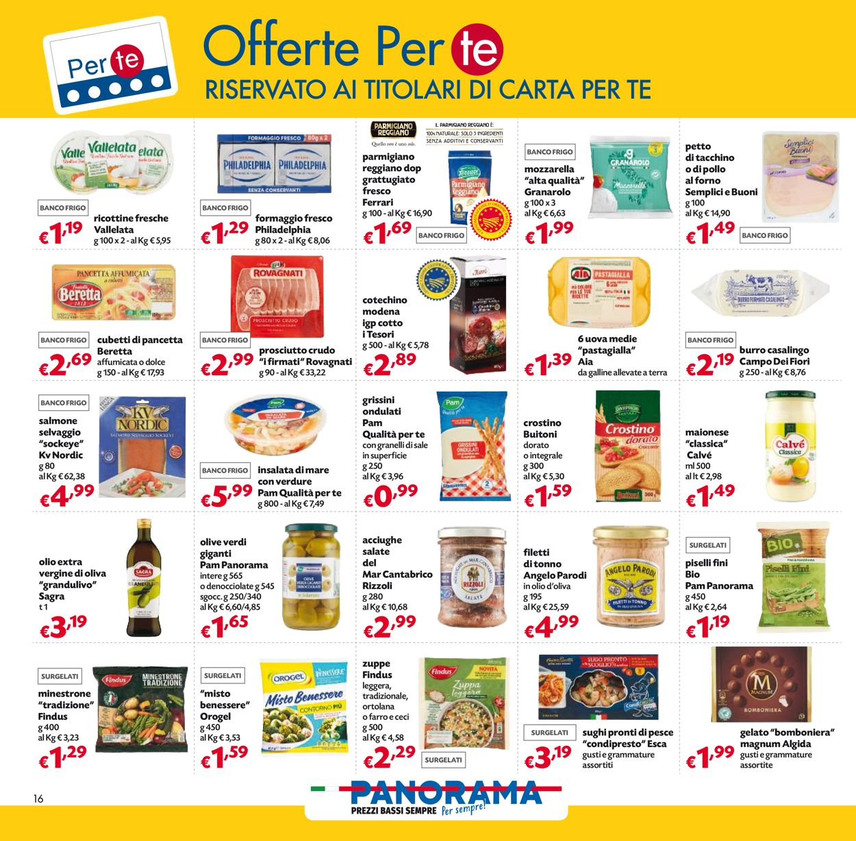 Volantino Pam Panorama - Natale 2020 - Offerte 03/12-16/12/2020 (Pagina 16)