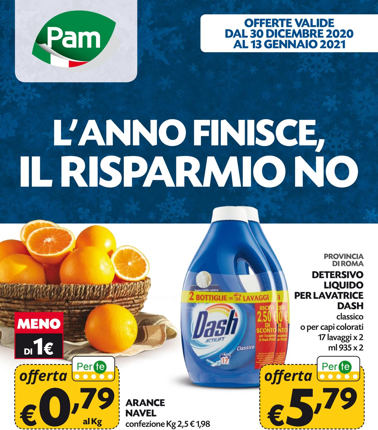 Volantino Pam Panorama - Offerte 30/12-13/01/2021