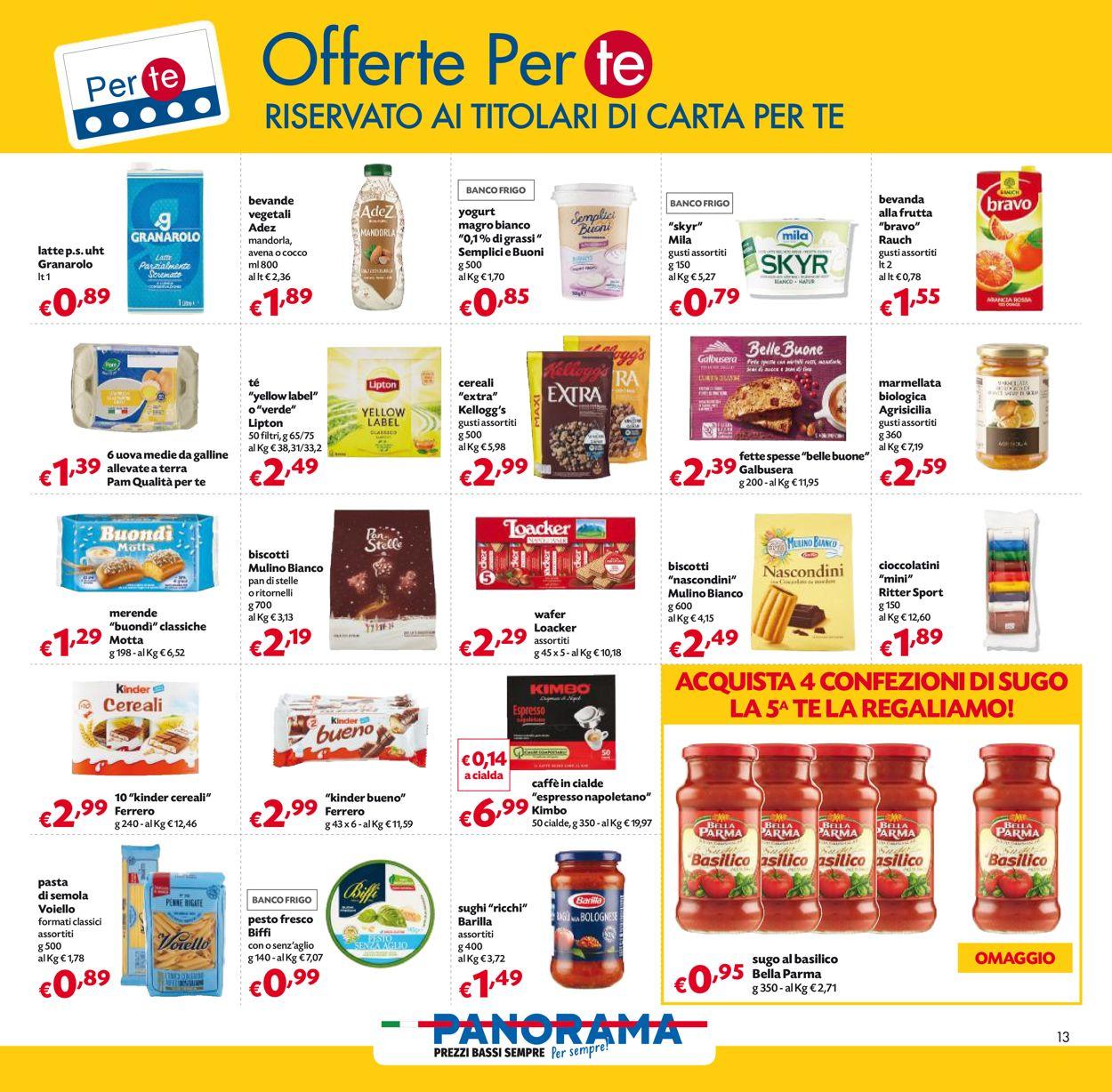 Volantino Pam Panorama - Offerte 30/12-13/01/2021 (Pagina 13)