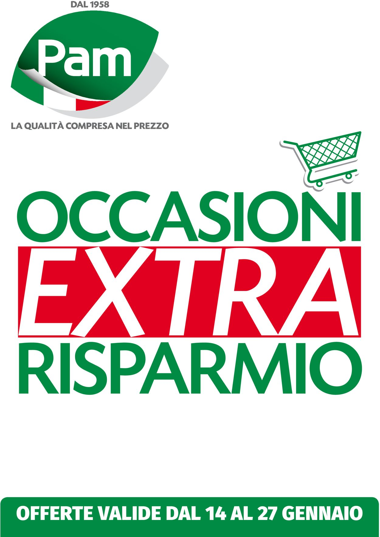 Volantino Pam Panorama - Offerte 14/01-27/01/2021