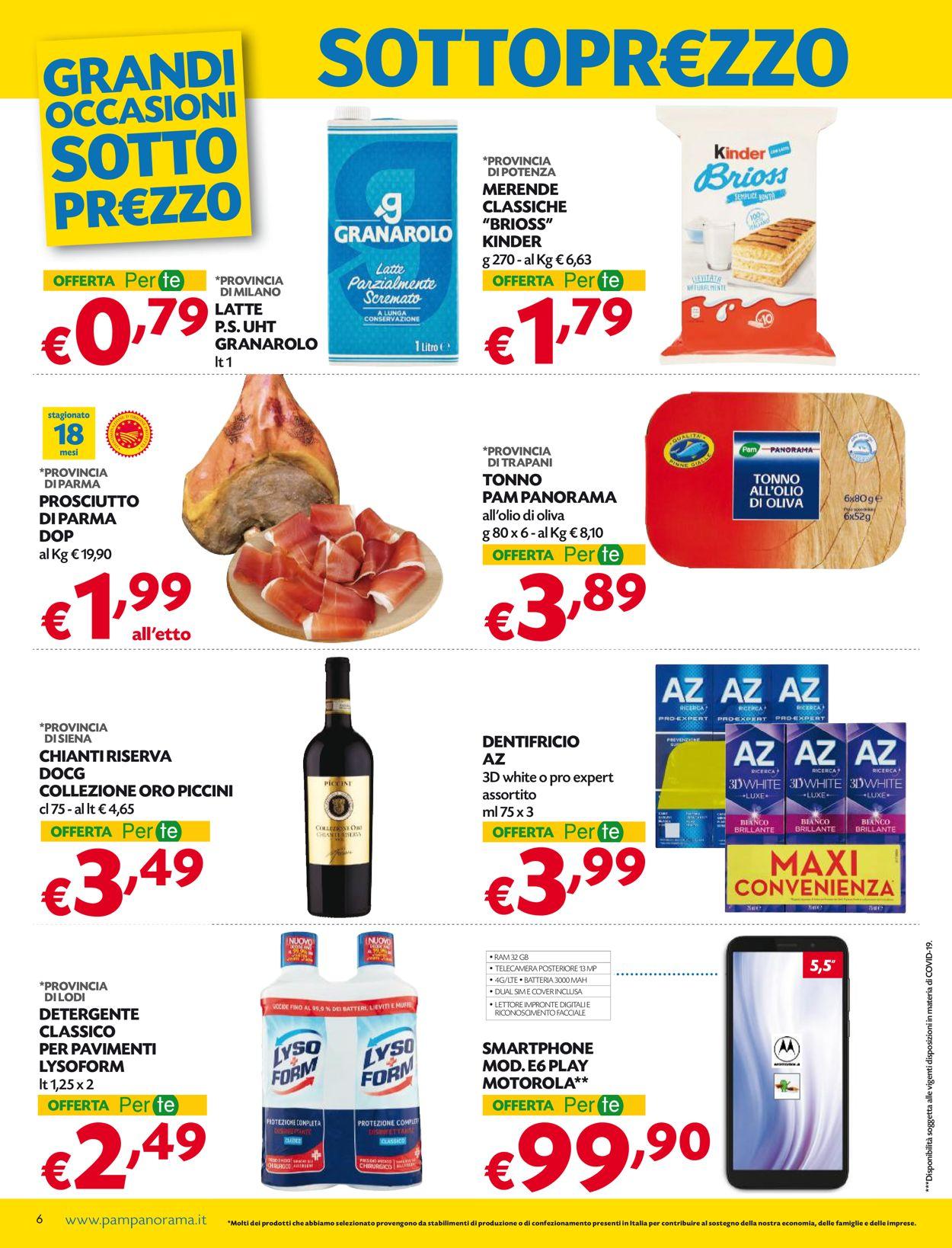 Volantino Pam Panorama - Offerte 28/01-10/02/2021 (Pagina 6)