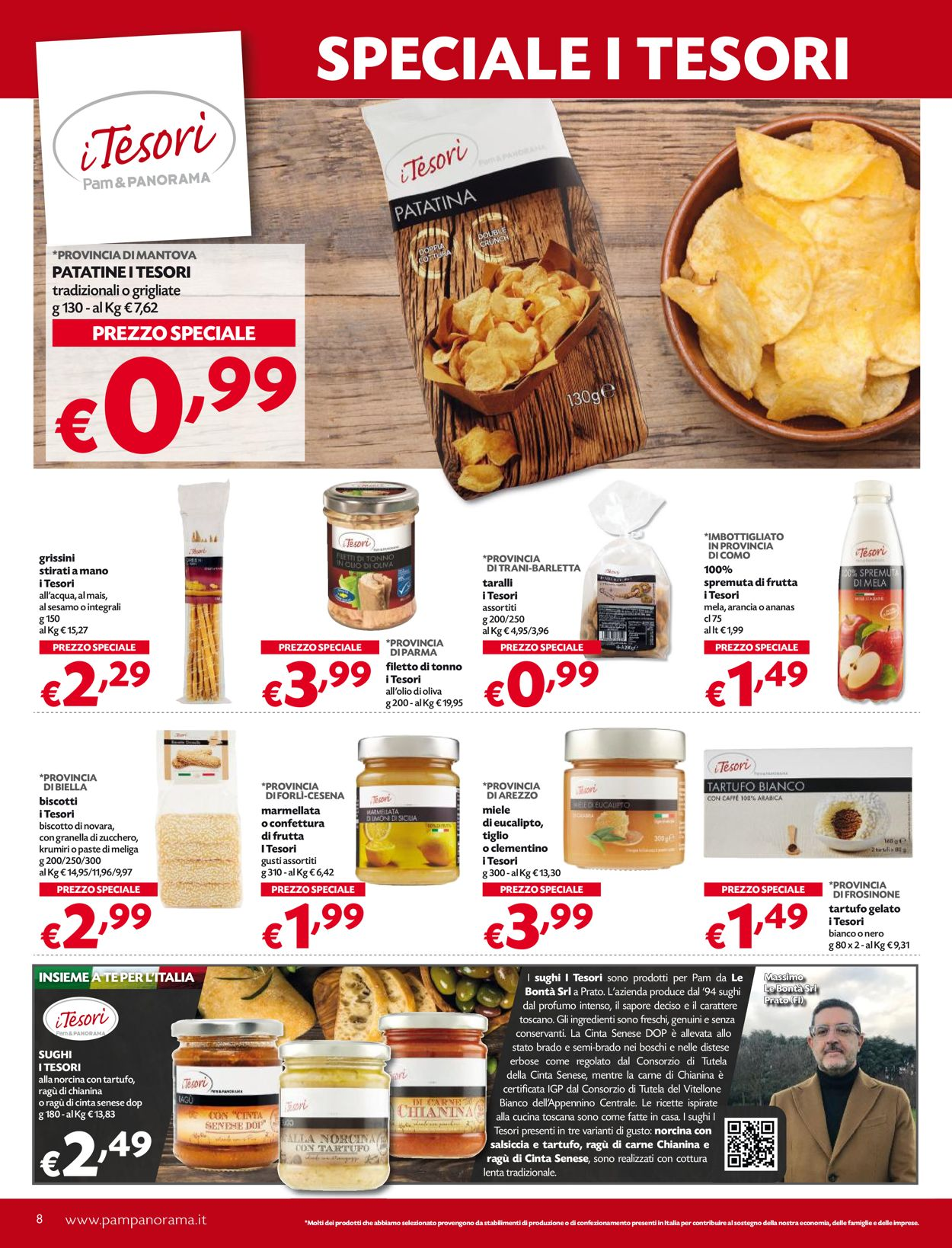 Volantino Pam Panorama - Offerte 25/02-10/03/2021 (Pagina 8)