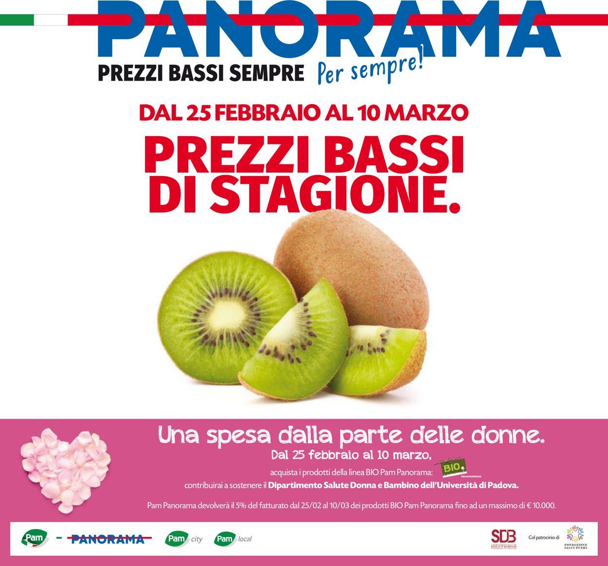 Volantino Pam Panorama - Offerte 25/02-10/03/2021