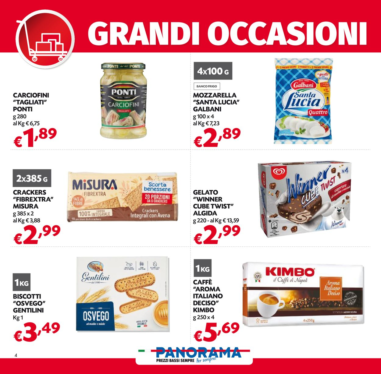 Volantino Pam Panorama - Offerte 25/02-10/03/2021 (Pagina 4)