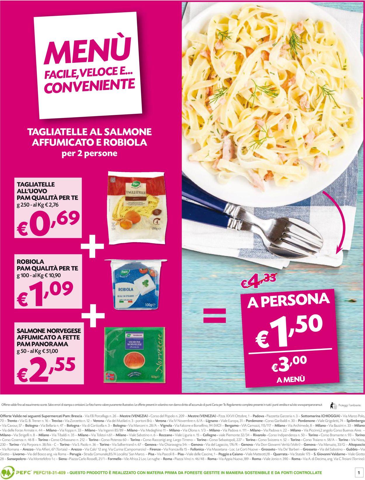 Volantino Pam Panorama - Offerte 22/03-05/04/2021 (Pagina 20)