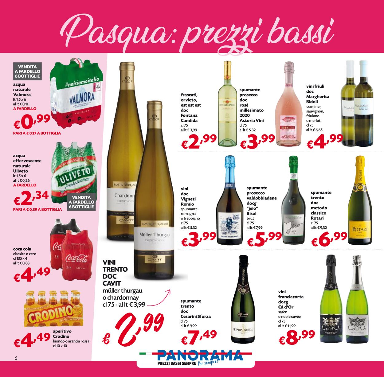 Volantino Pam Panorama - Pasqua 2021! - Offerte 22/03-05/04/2021 (Pagina 6)
