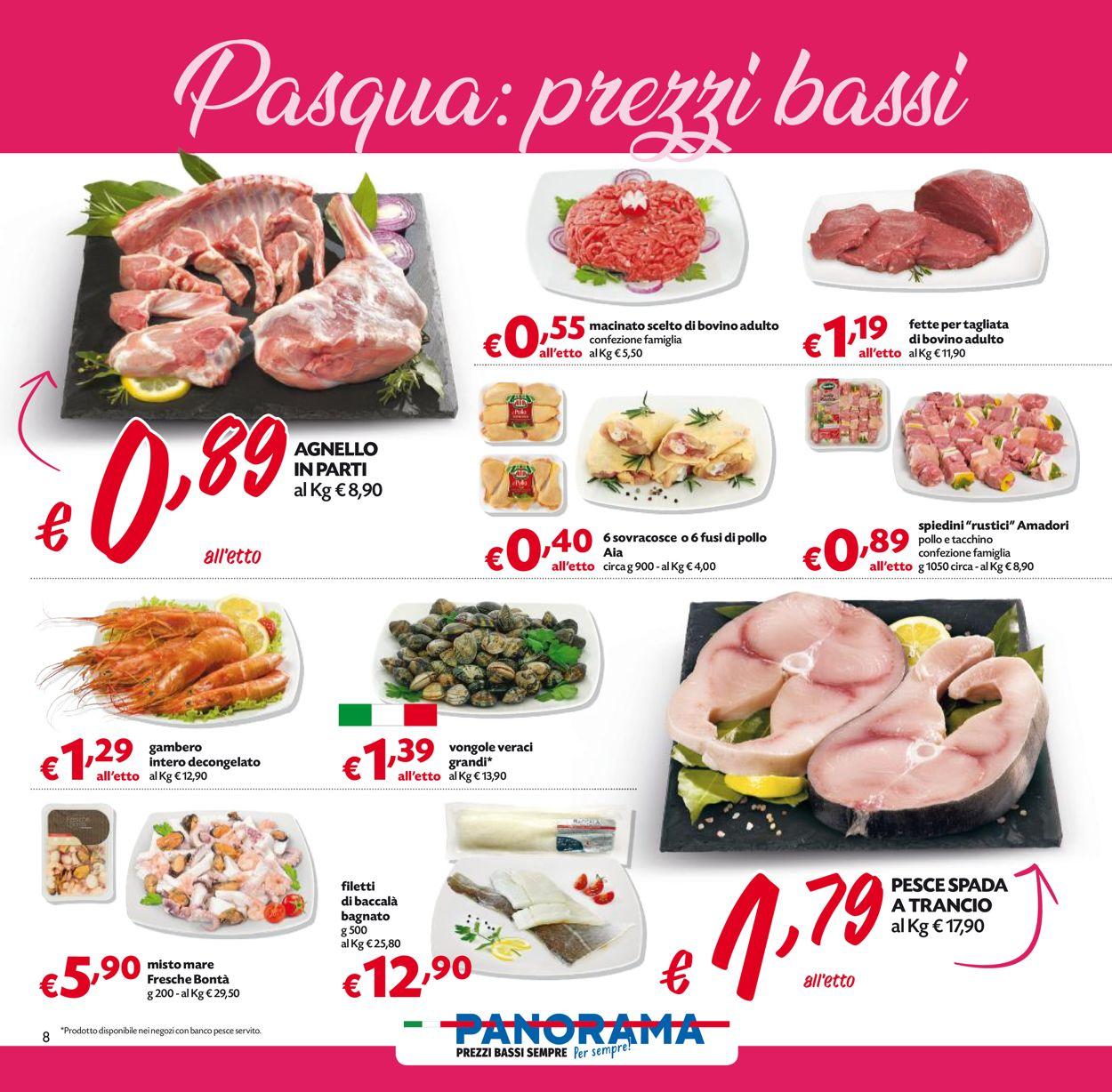 Volantino Pam Panorama - Pasqua 2021! - Offerte 22/03-05/04/2021 (Pagina 8)