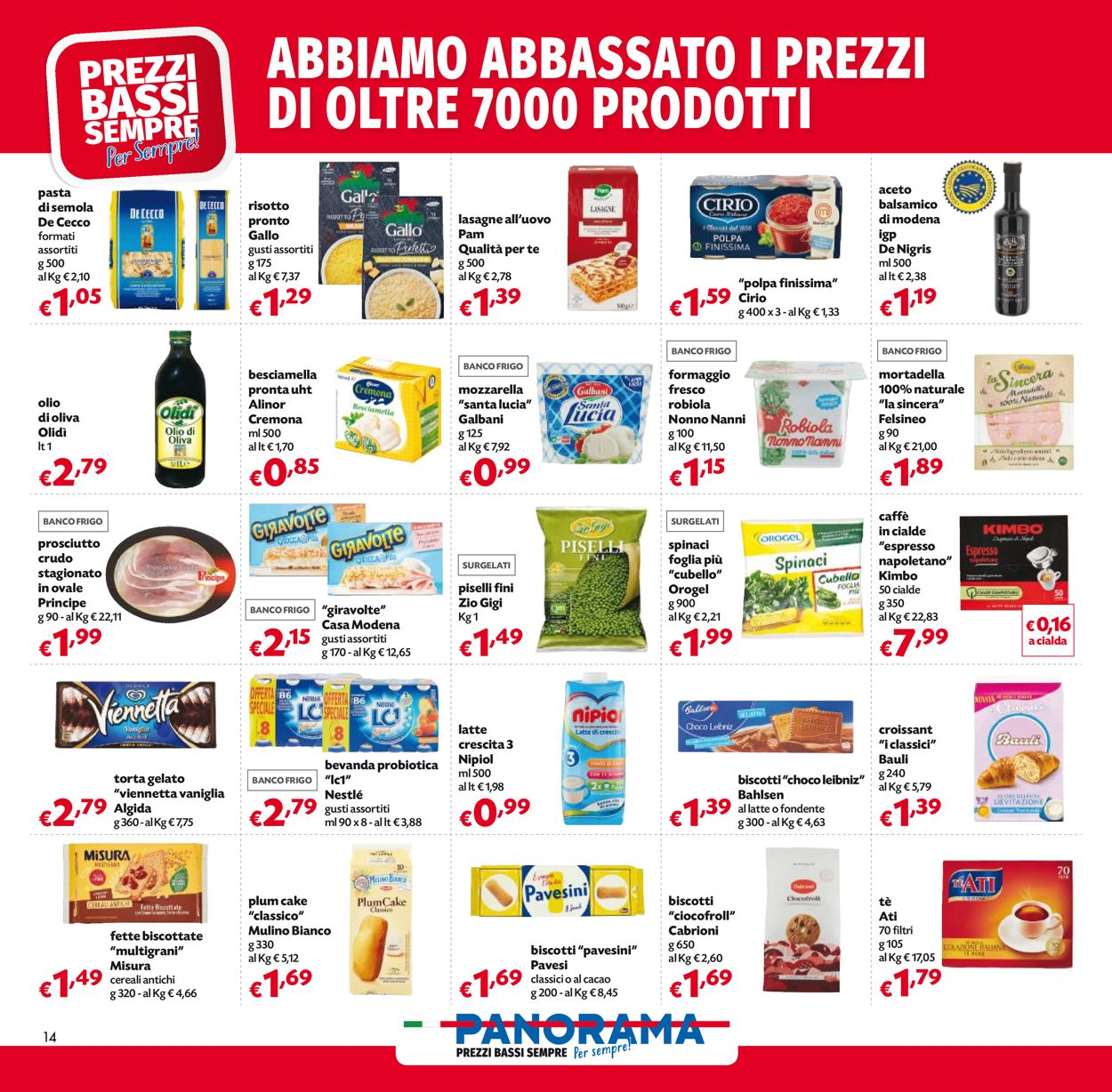Volantino Pam Panorama - Pasqua 2021! - Offerte 22/03-05/04/2021 (Pagina 14)