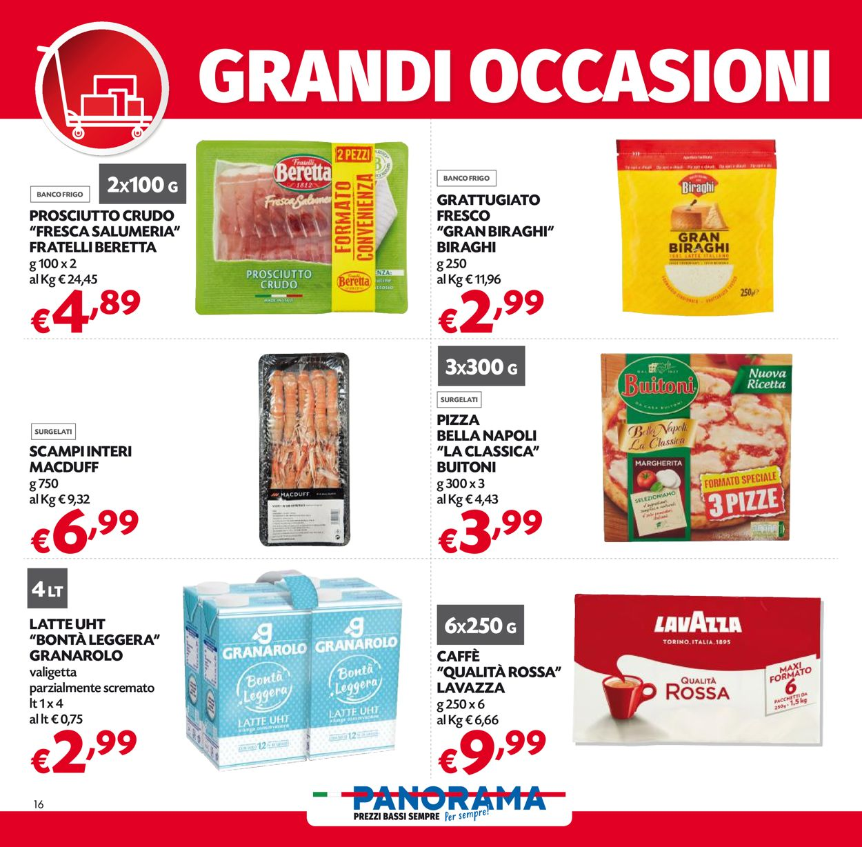 Volantino Pam Panorama - Pasqua 2021! - Offerte 22/03-05/04/2021 (Pagina 16)