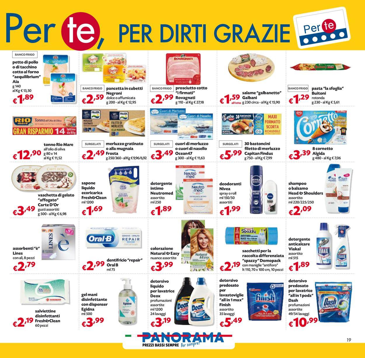 Volantino Pam Panorama - Pasqua 2021! - Offerte 22/03-05/04/2021 (Pagina 19)