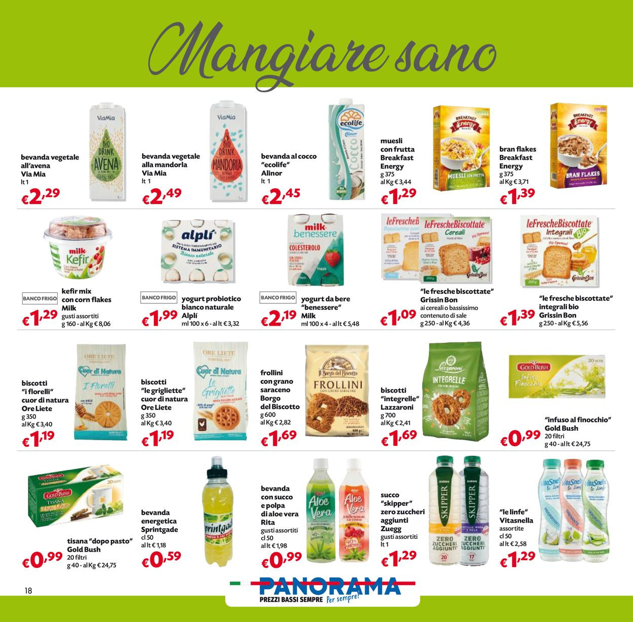 Volantino Pam Panorama - Offerte 06/04-21/04/2021 (Pagina 18)