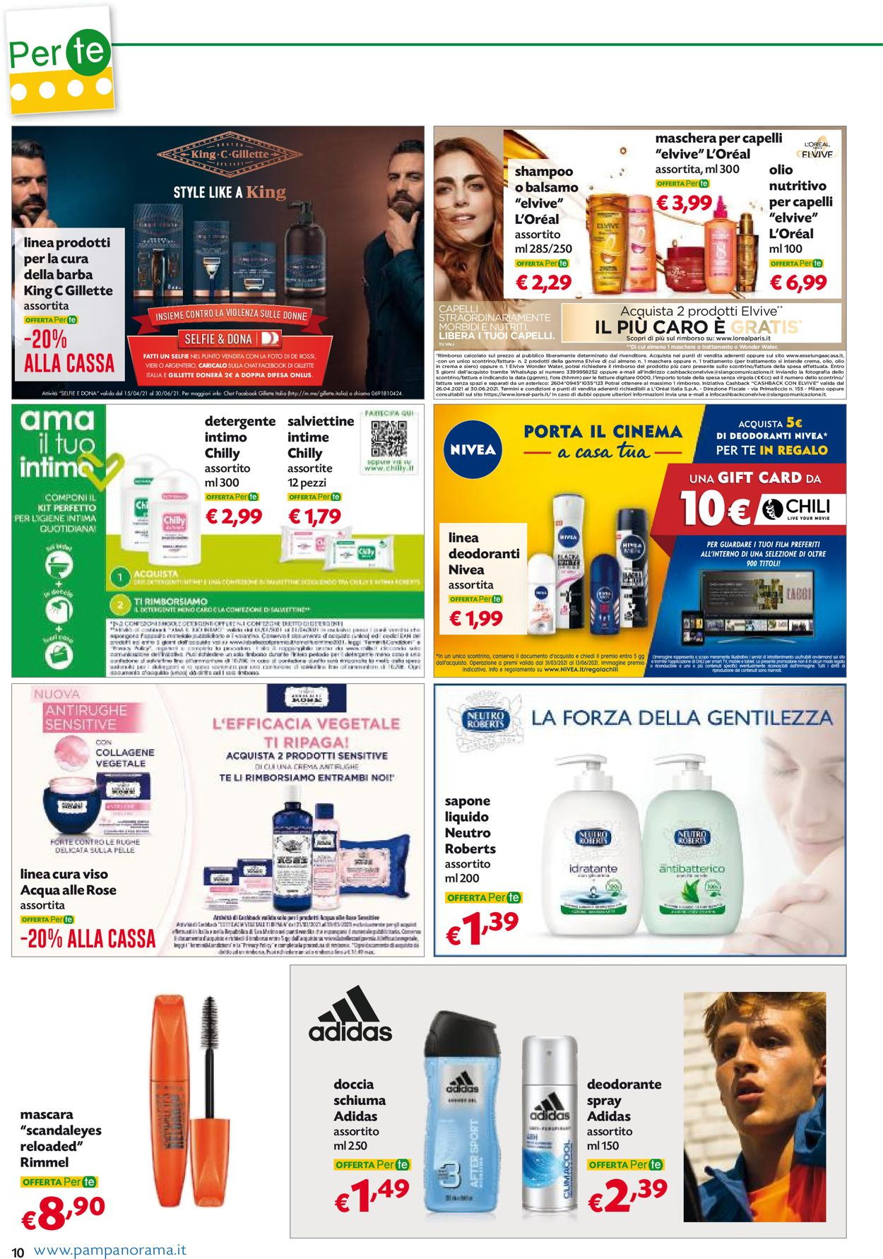 Volantino Pam Panorama - Offerte 06/05-19/05/2021 (Pagina 10)