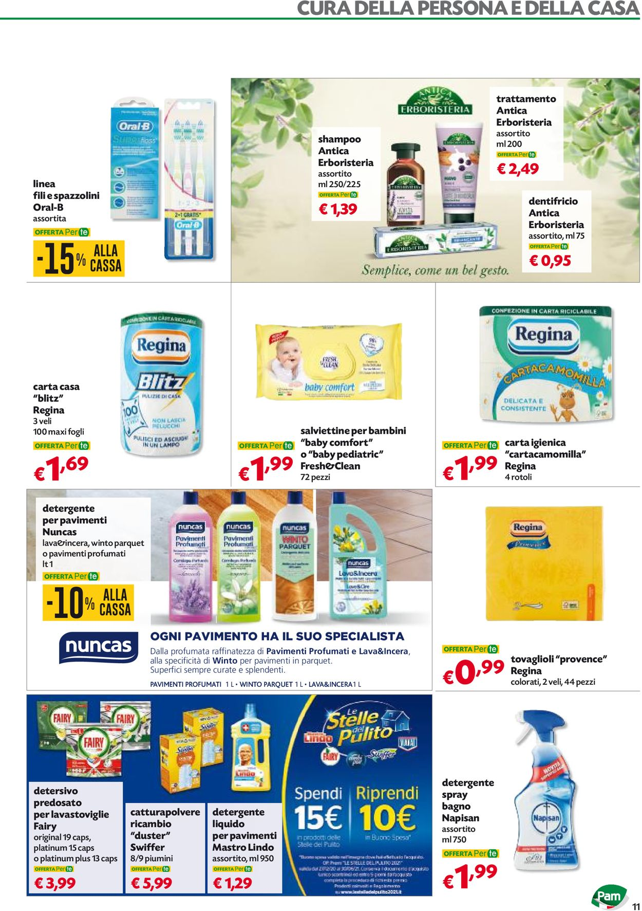 Volantino Pam Panorama - Offerte 06/05-19/05/2021 (Pagina 11)