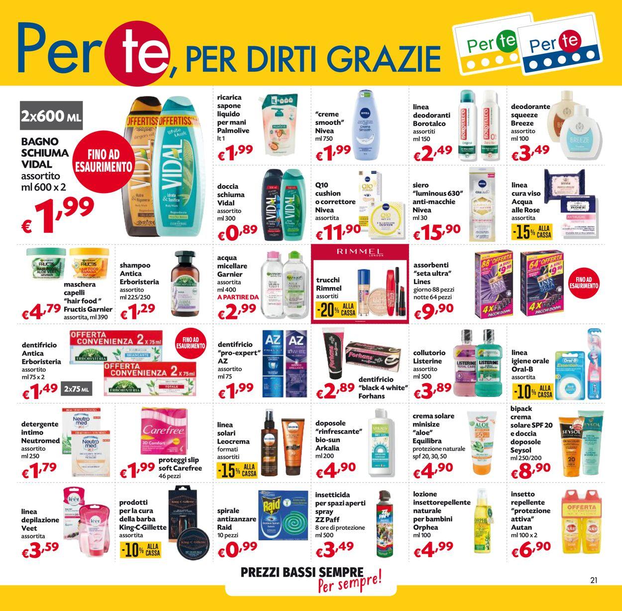 Volantino Pam Panorama - Offerte 06/05-19/05/2021 (Pagina 21)