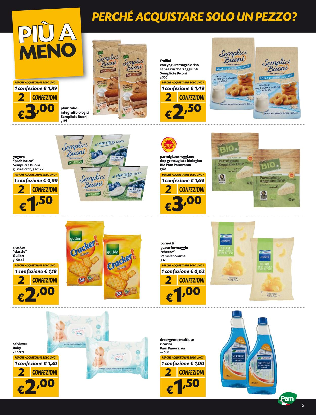 Volantino Pam Panorama - Offerte 20/05-02/06/2021 (Pagina 15)