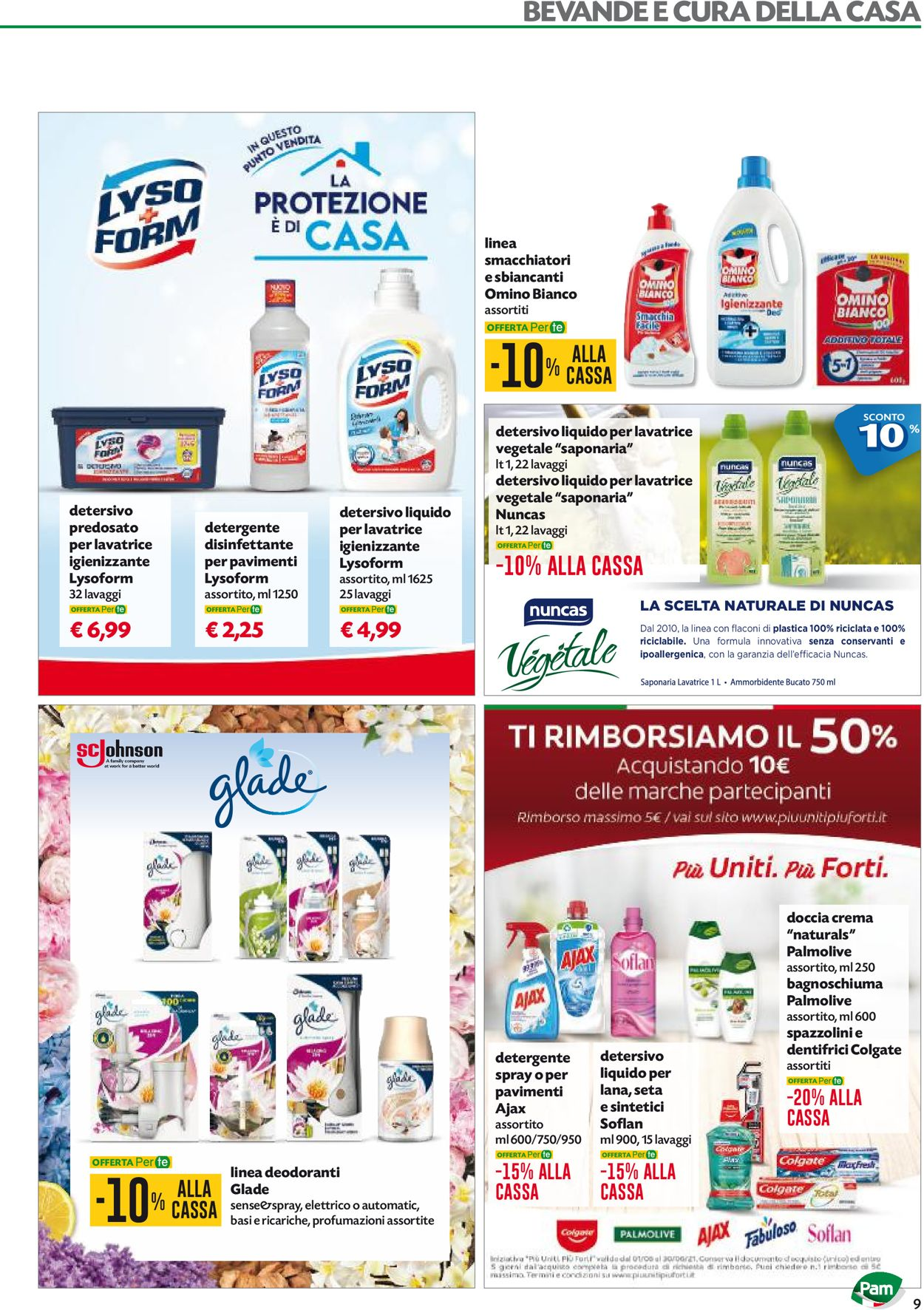 Volantino Pam Panorama - Offerte 03/06-16/06/2021 (Pagina 9)
