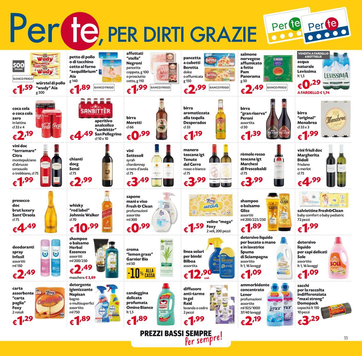Volantino Pam Panorama - Offerte 03/06-16/06/2021 (Pagina 11)