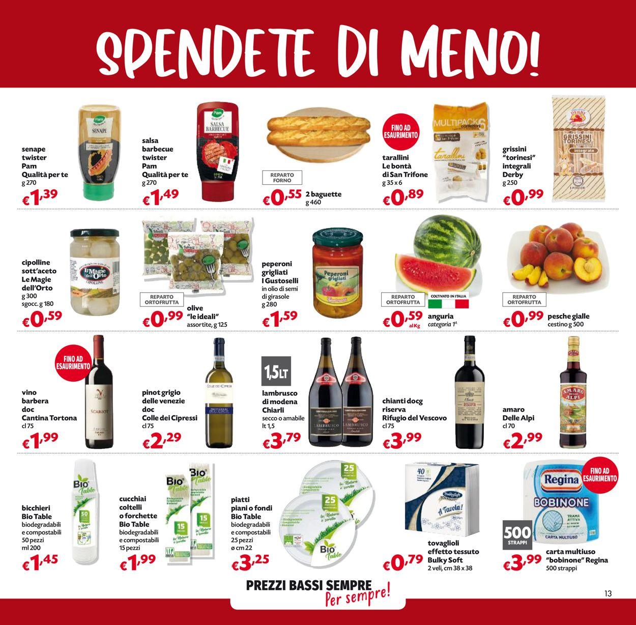 Volantino Pam Panorama - Offerte 03/06-16/06/2021 (Pagina 13)