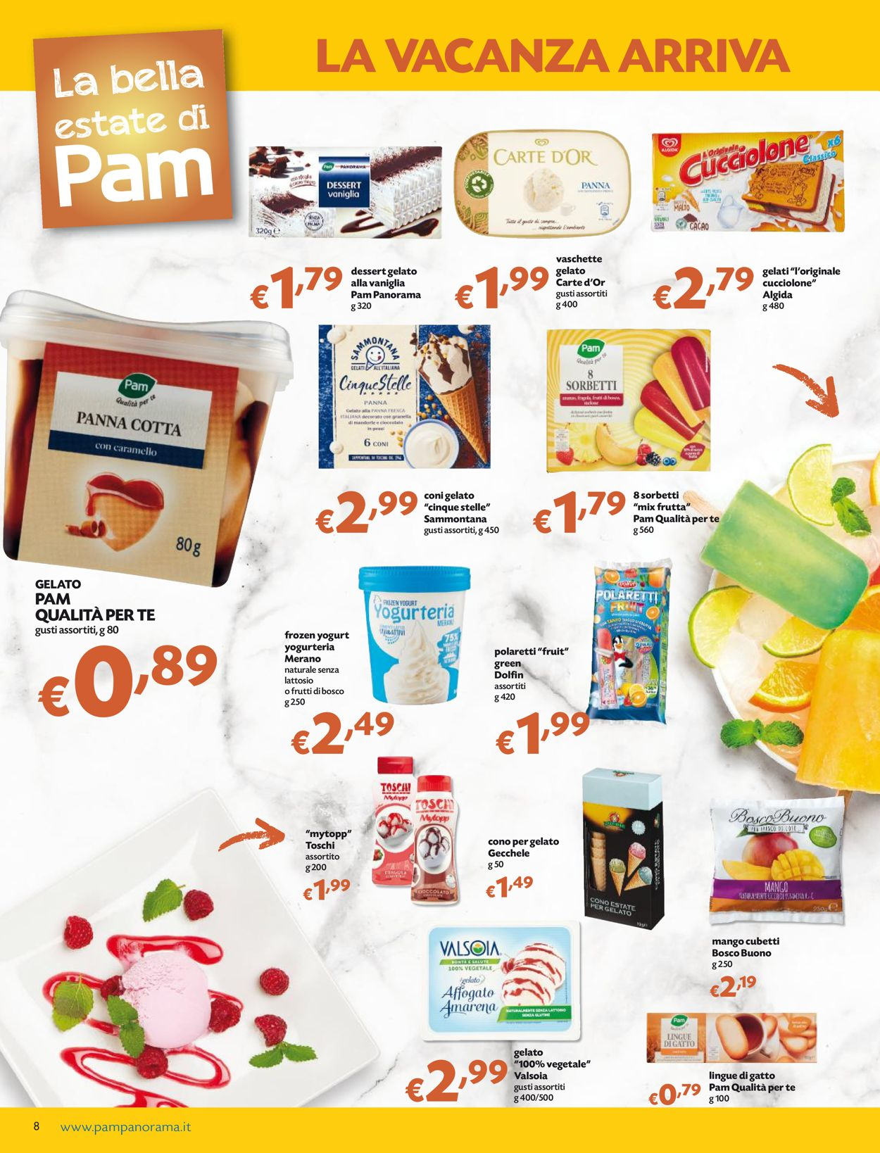 Volantino Pam Panorama - Offerte 17/06-30/06/2021 (Pagina 8)