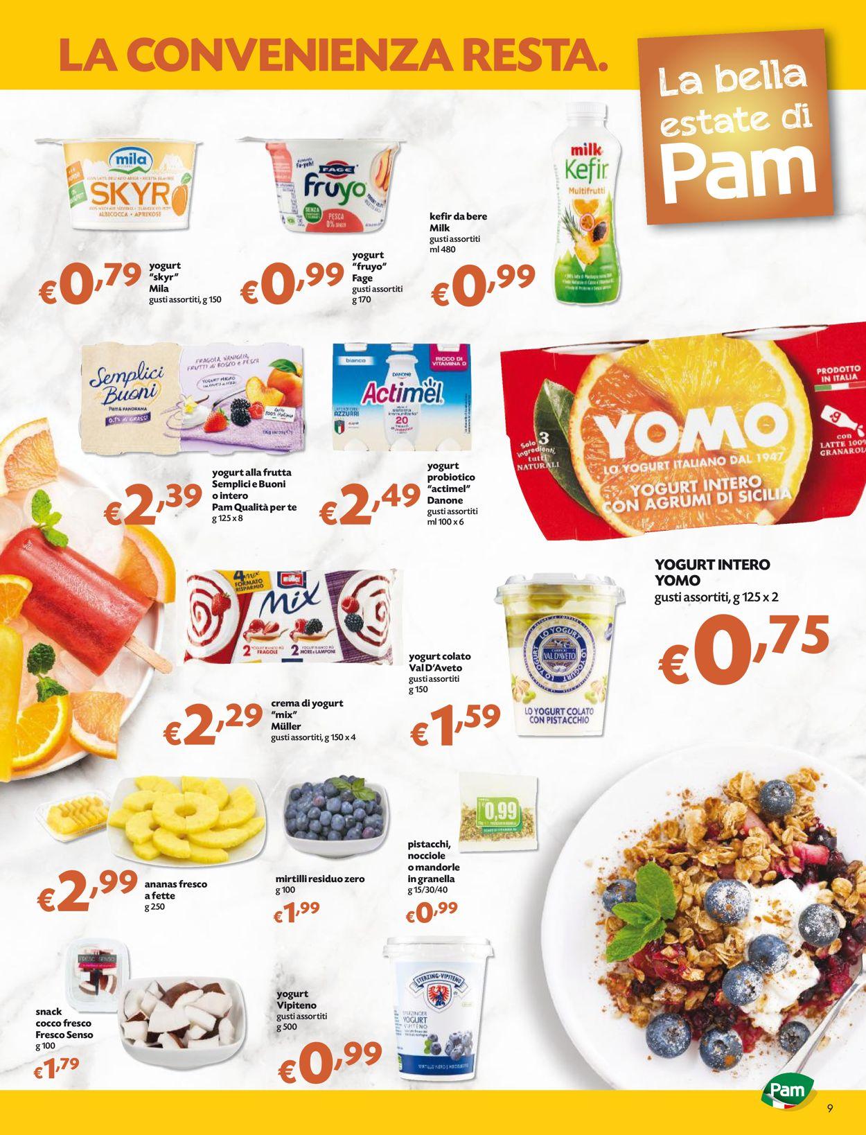 Volantino Pam Panorama - Offerte 17/06-30/06/2021 (Pagina 9)