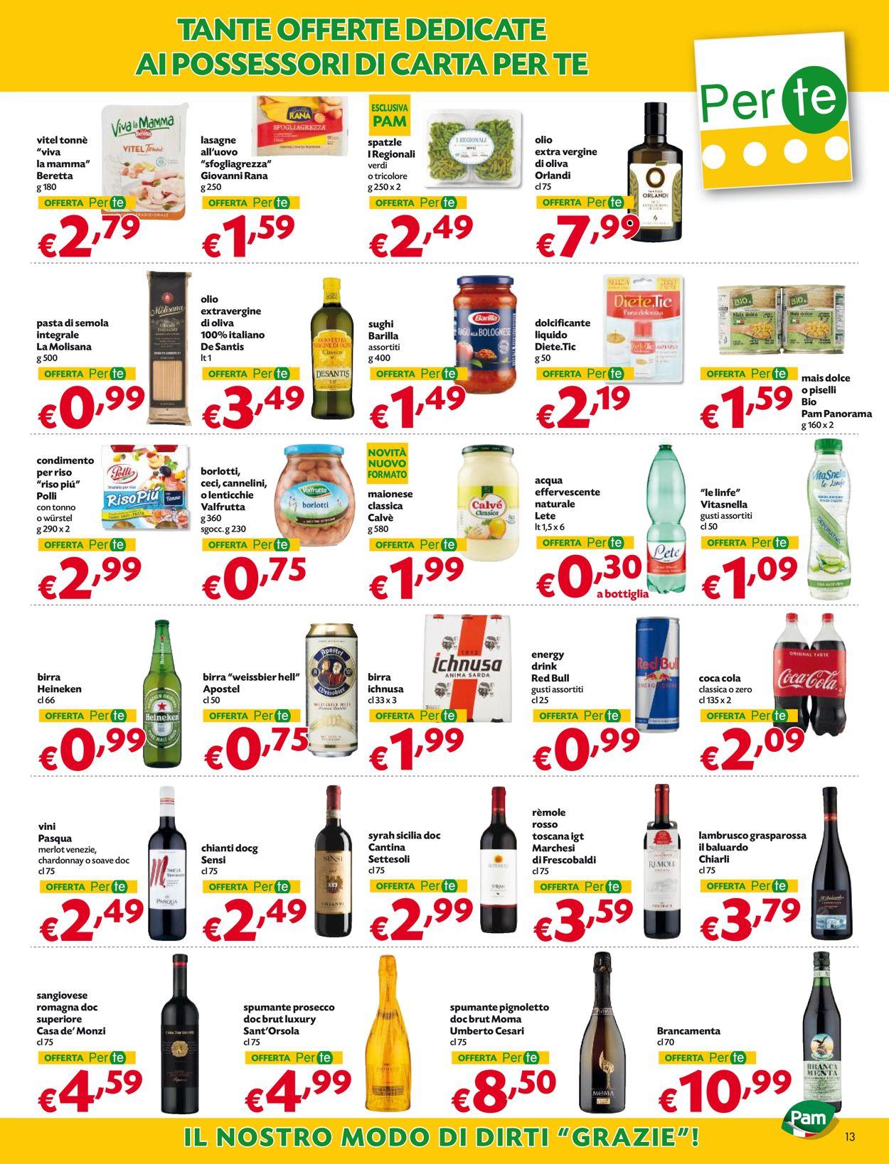 Volantino Pam Panorama - Offerte 17/06-30/06/2021 (Pagina 13)