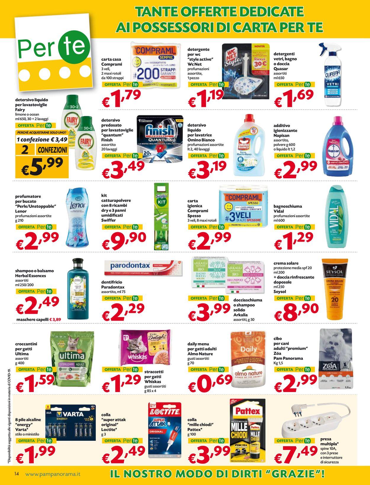 Volantino Pam Panorama - Offerte 17/06-30/06/2021 (Pagina 14)