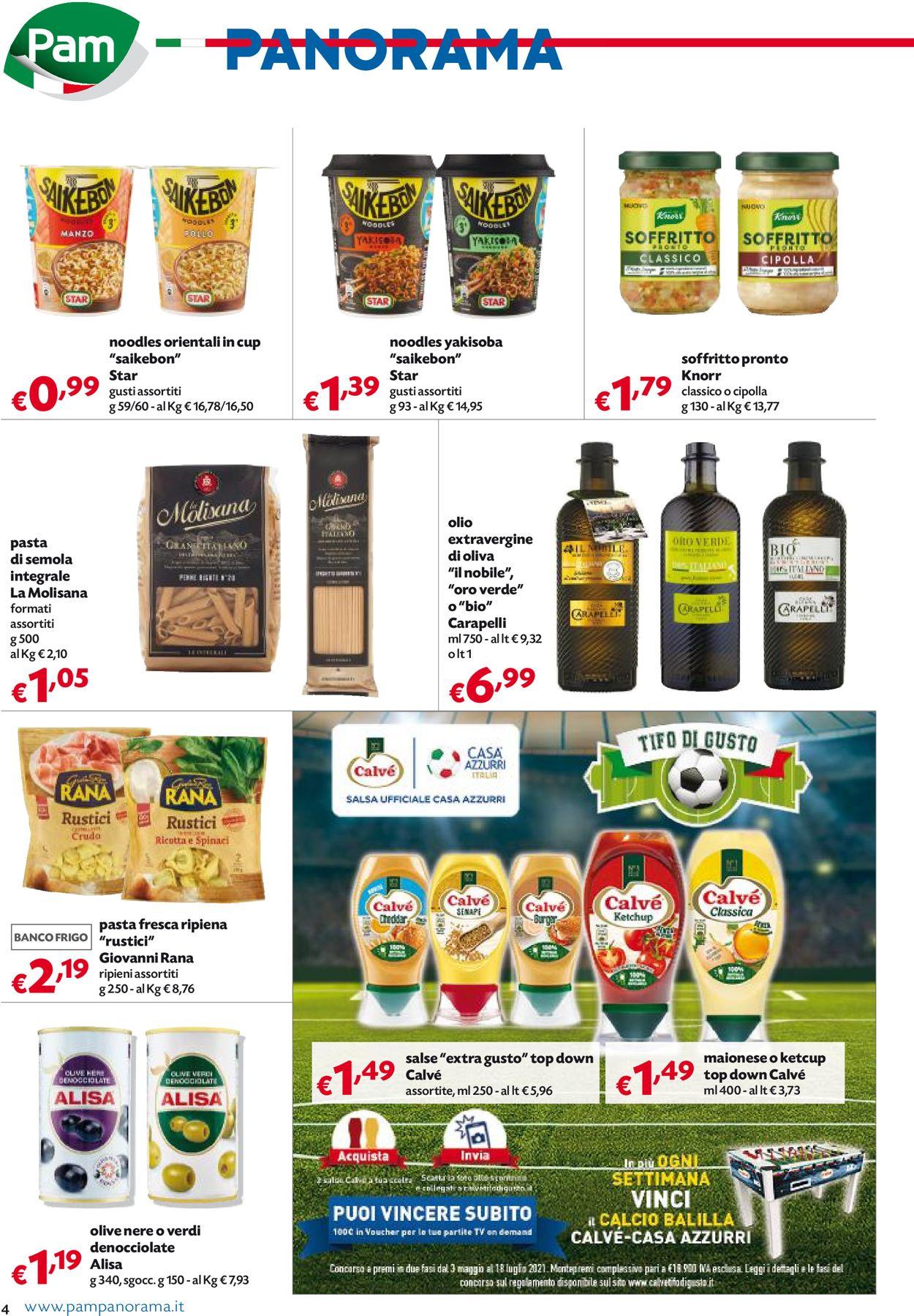 Volantino Pam Panorama - Offerte 17/06-30/06/2021 (Pagina 4)