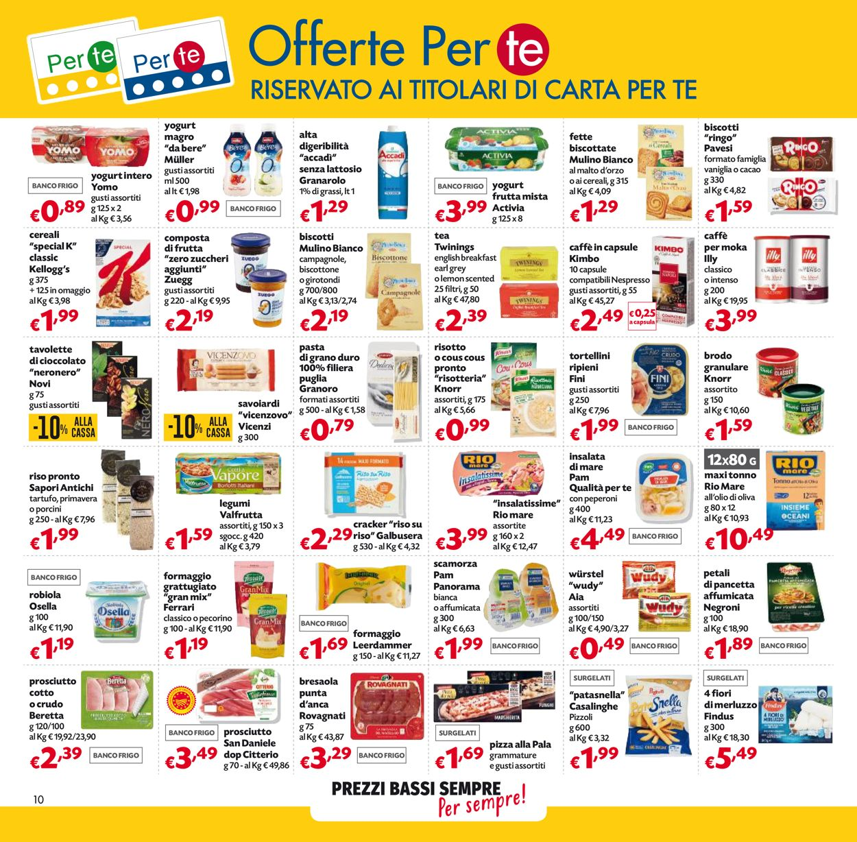 Volantino Pam Panorama - Offerte 17/06-30/06/2021 (Pagina 10)