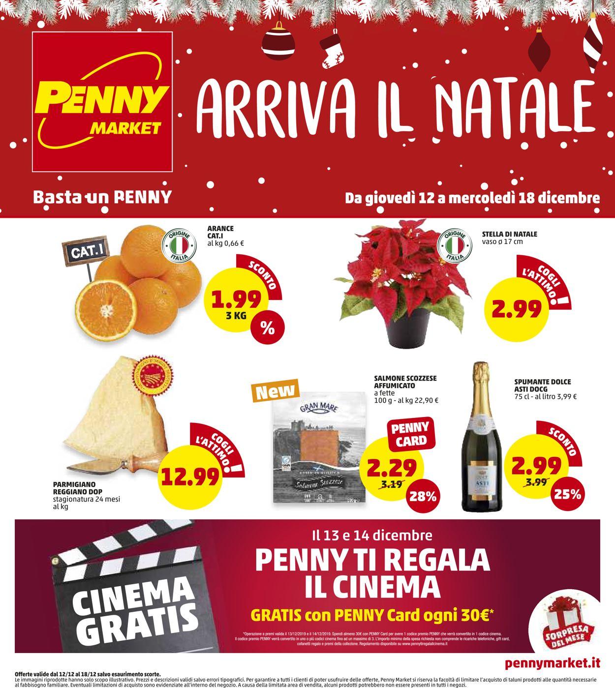 Volantino Il volantino natalizio di Penny Market - Offerte 12/12-18/12/2019