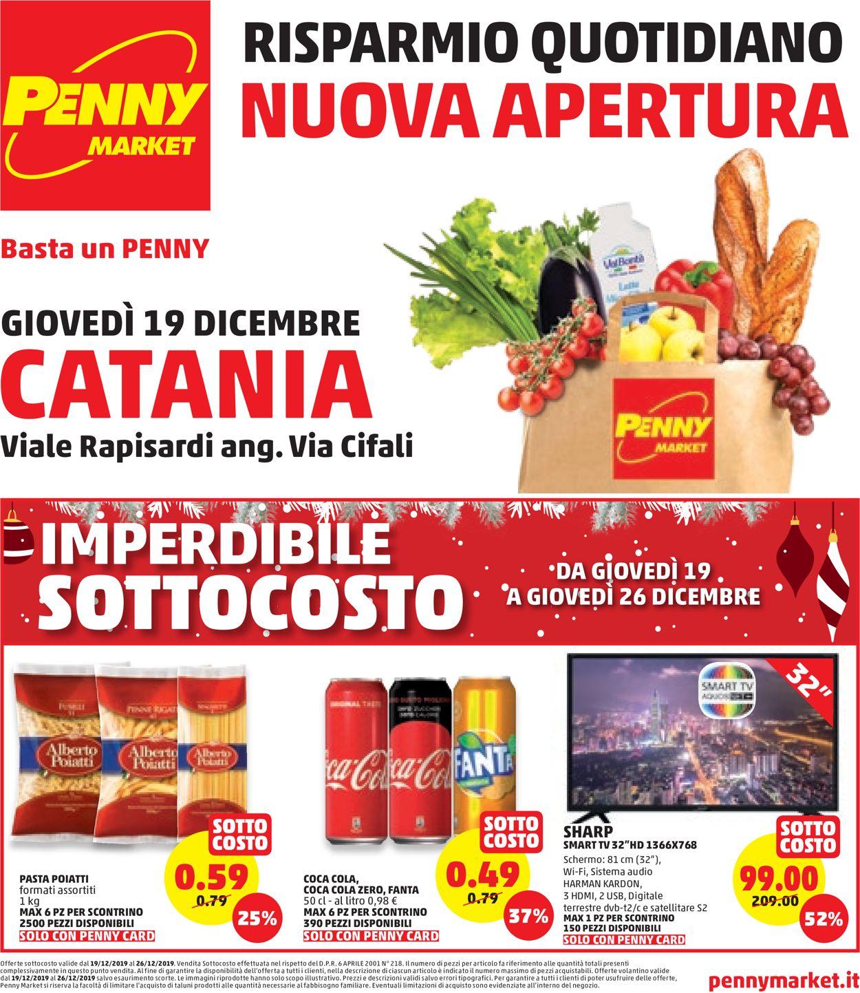 Volantino Penny Market - Offerte 19/12-26/12/2019