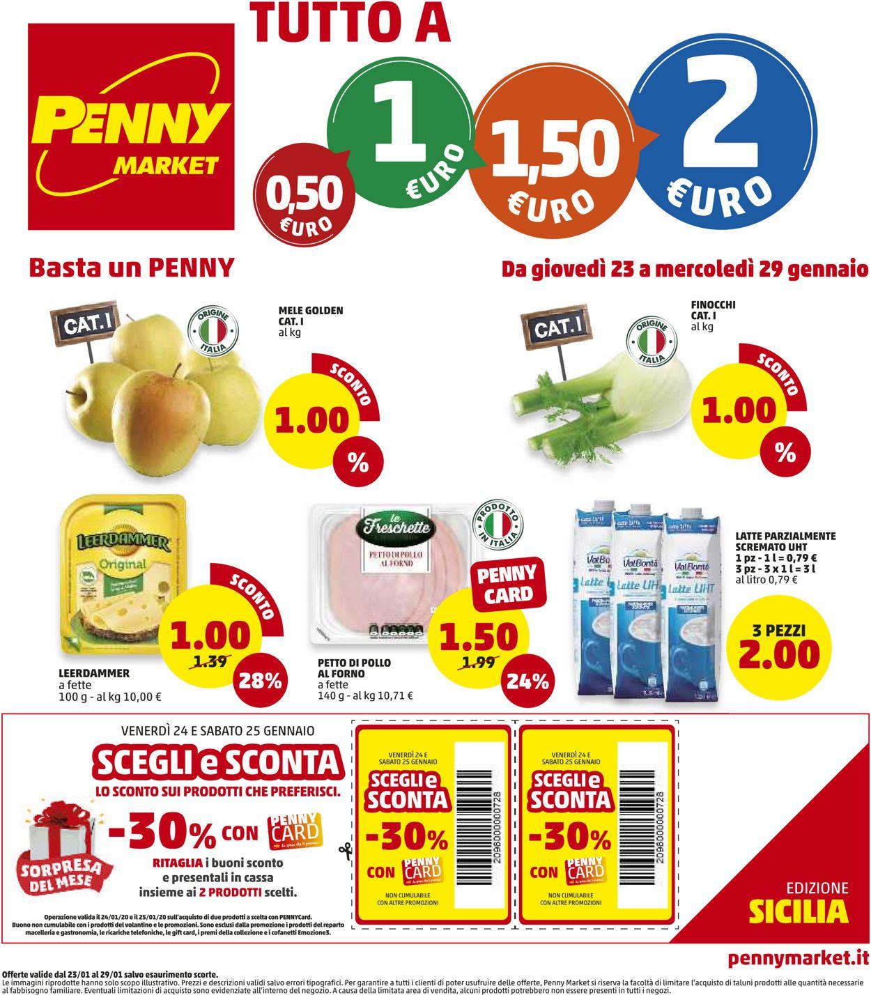 Volantino Penny Market - Offerte 23/01-29/01/2020