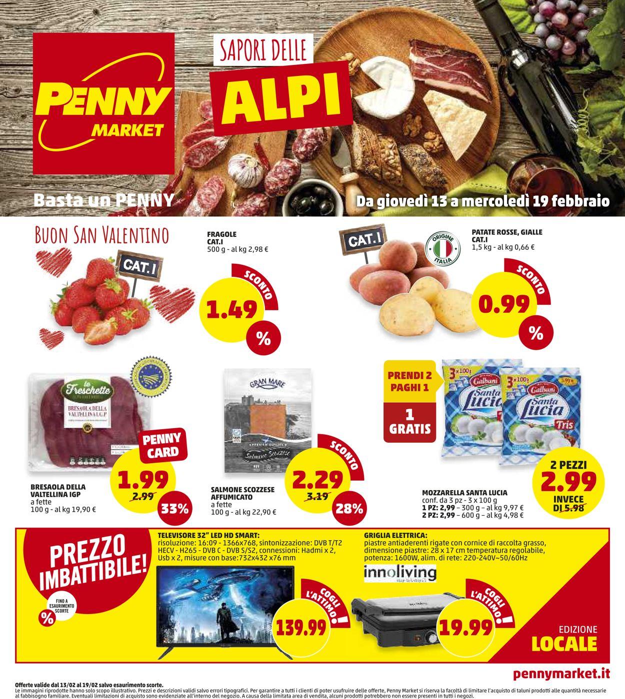 Volantino Penny Market - Offerte 13/02-19/02/2020