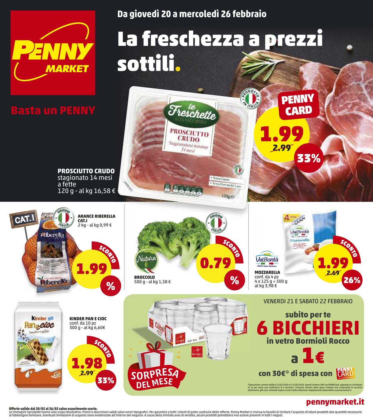 Volantino Penny Market - Offerte 20/02-26/02/2020