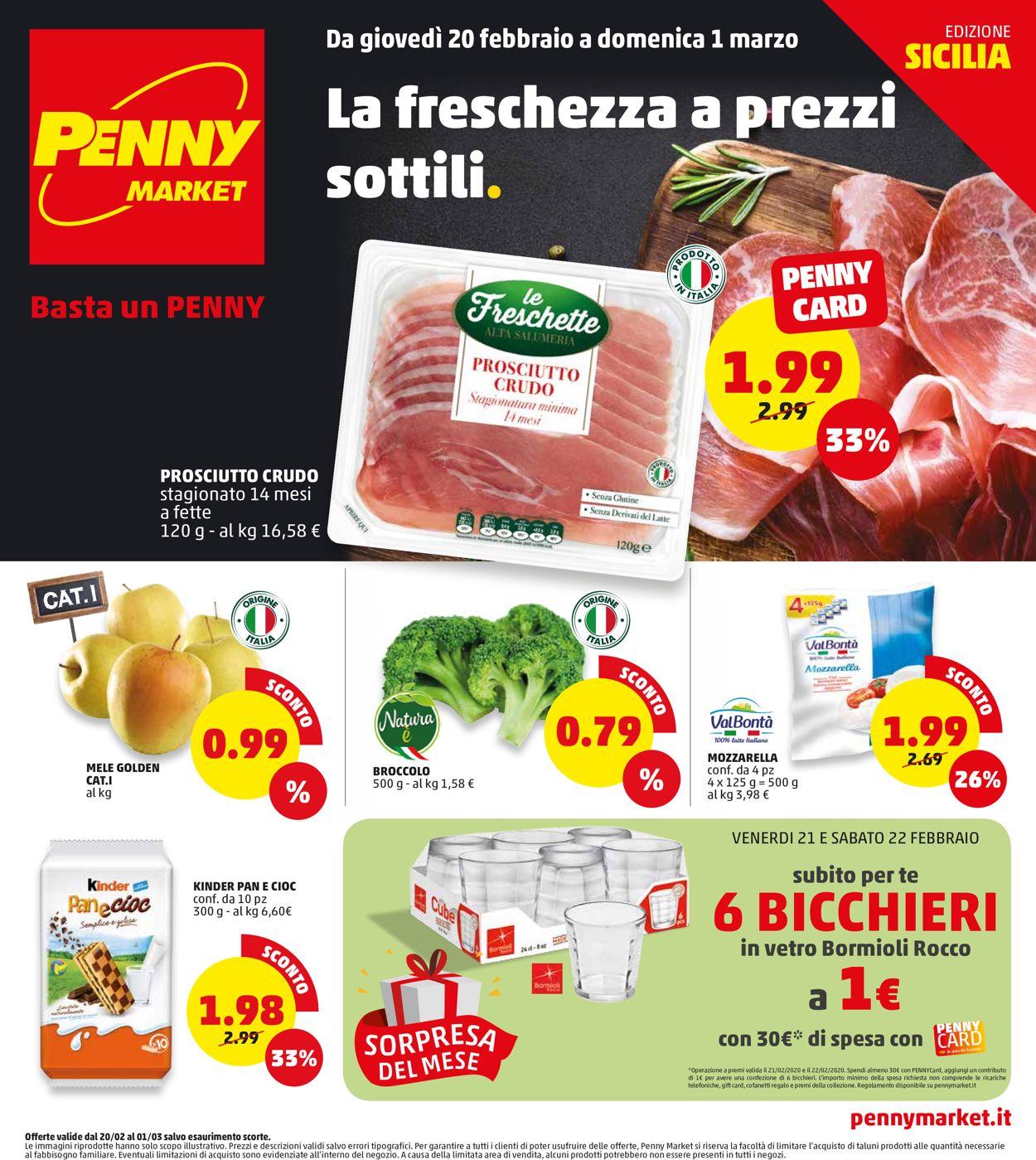 Volantino Penny Market - Offerte 20/02-01/03/2020