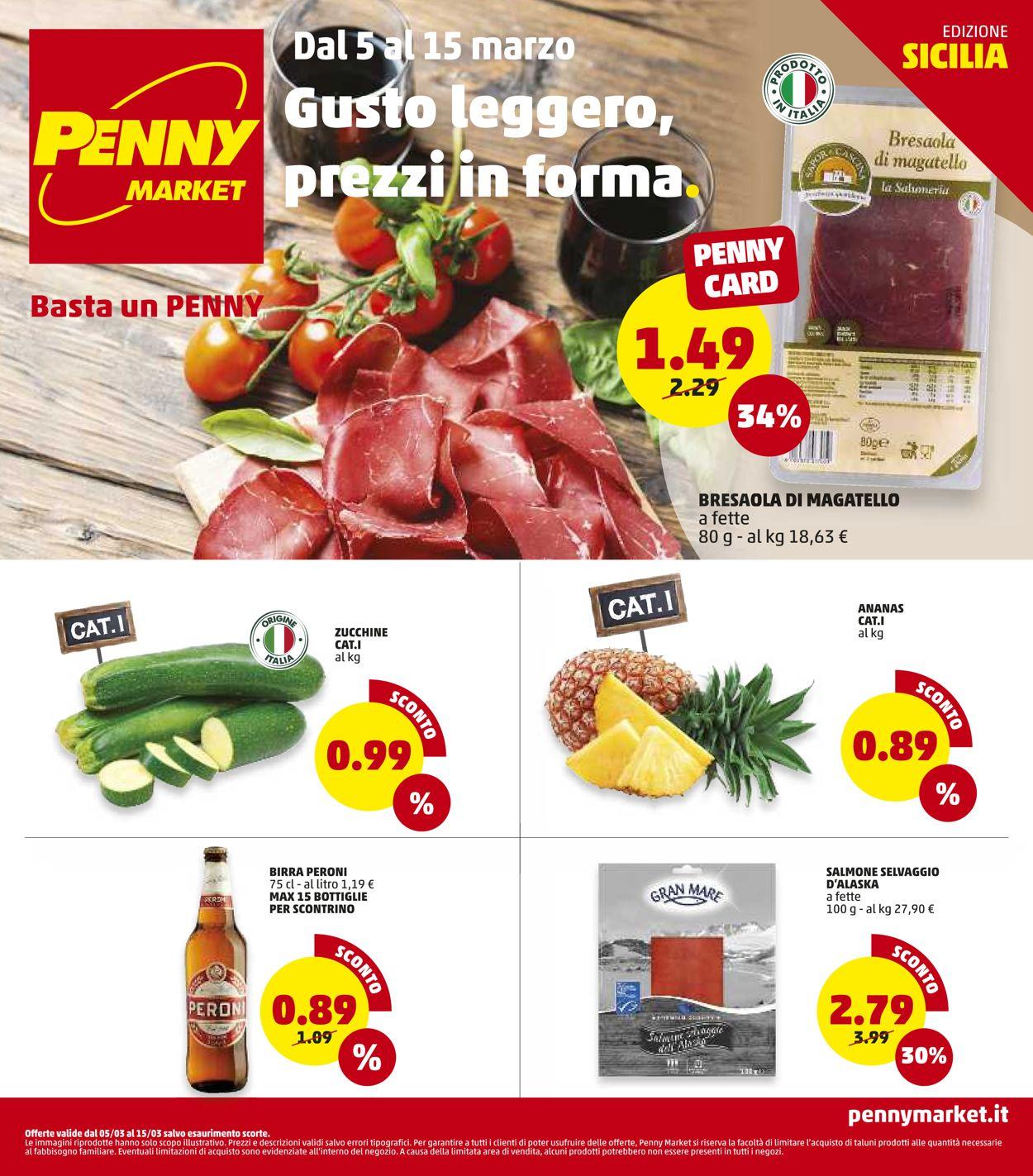 Volantino Penny Market - Offerte 05/03-15/03/2020