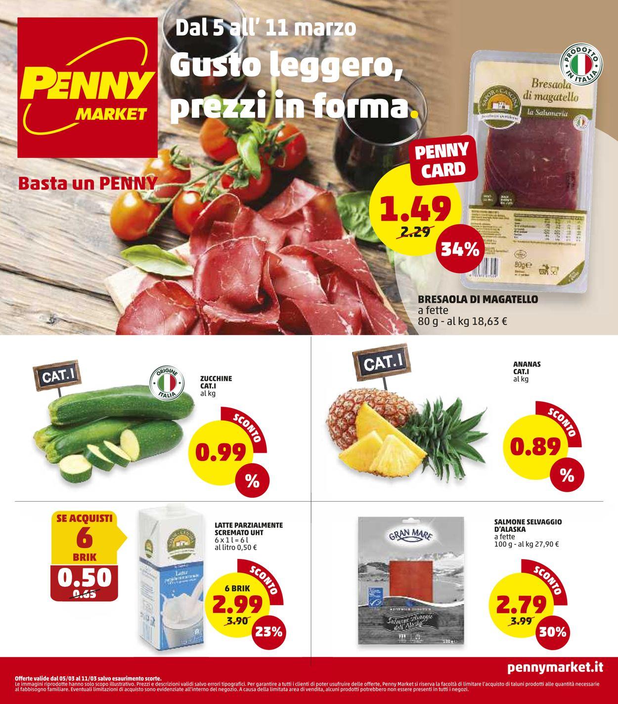 Volantino Penny Market - Offerte 05/03-11/03/2020