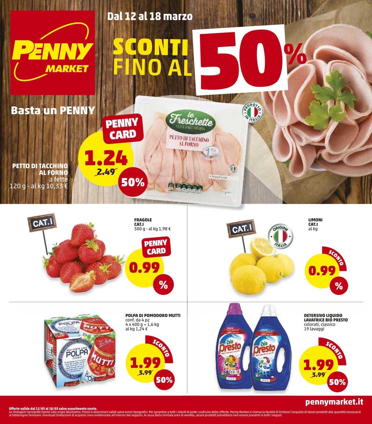 Volantino Penny Market - Offerte 12/03-18/03/2020