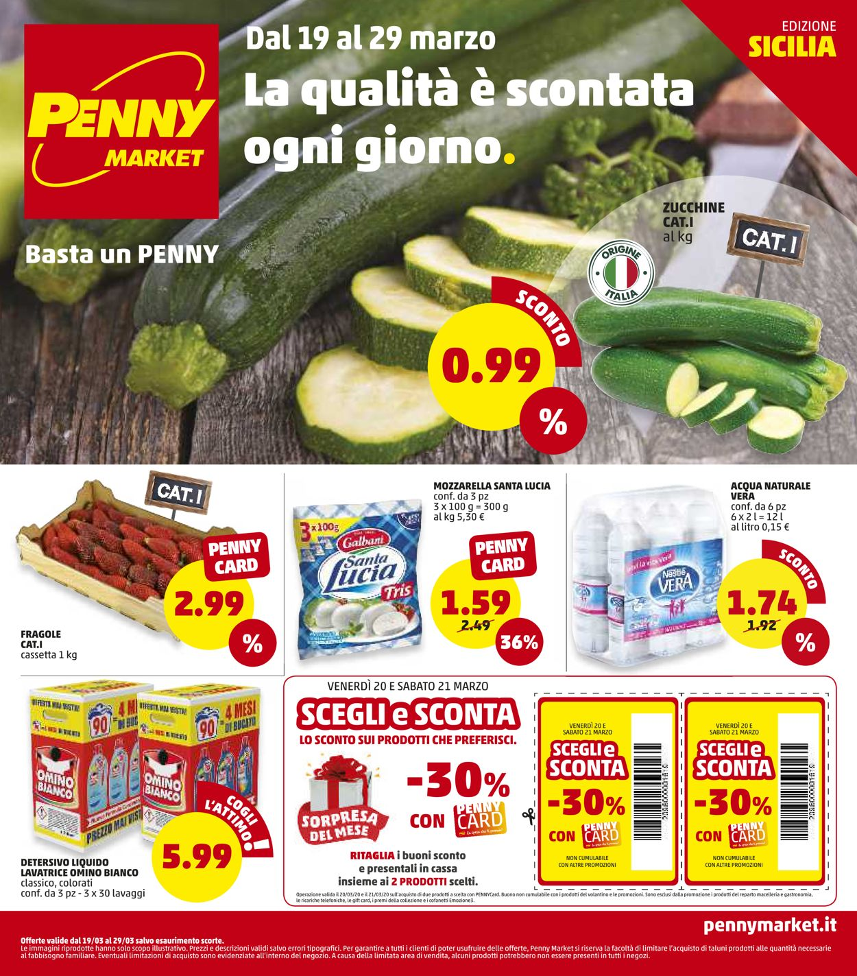 Volantino Penny Market - Offerte 19/03-29/03/2020