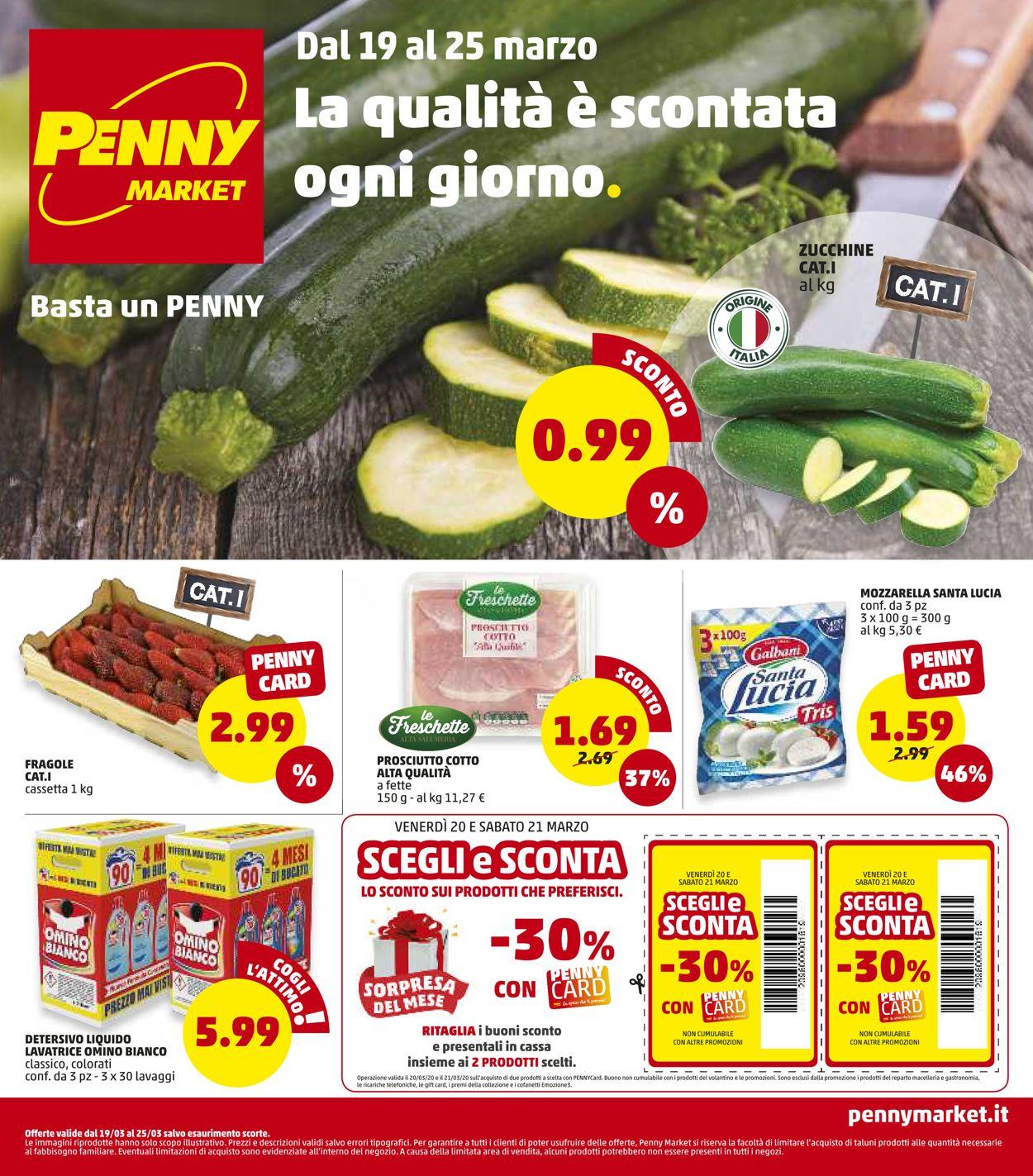 Volantino Penny Market - Offerte 19/03-25/03/2020