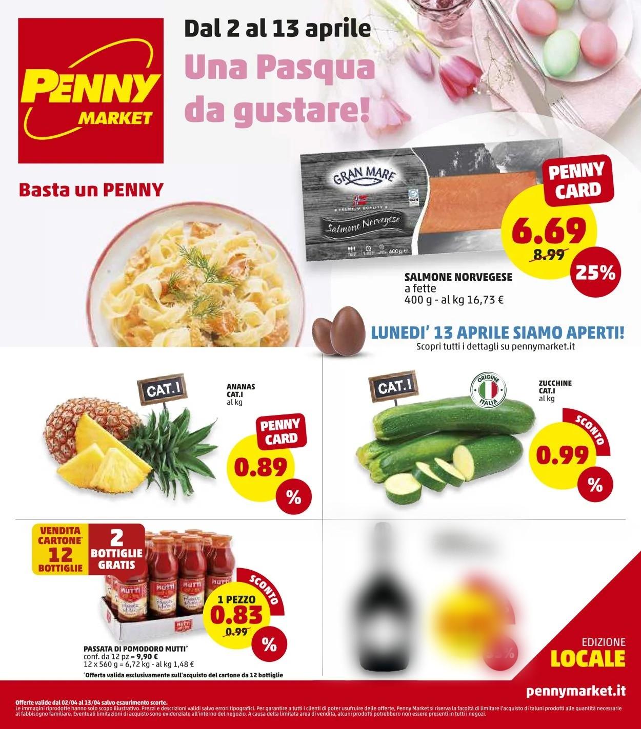 Volantino Penny Market - Offerte 02/04-13/04/2020