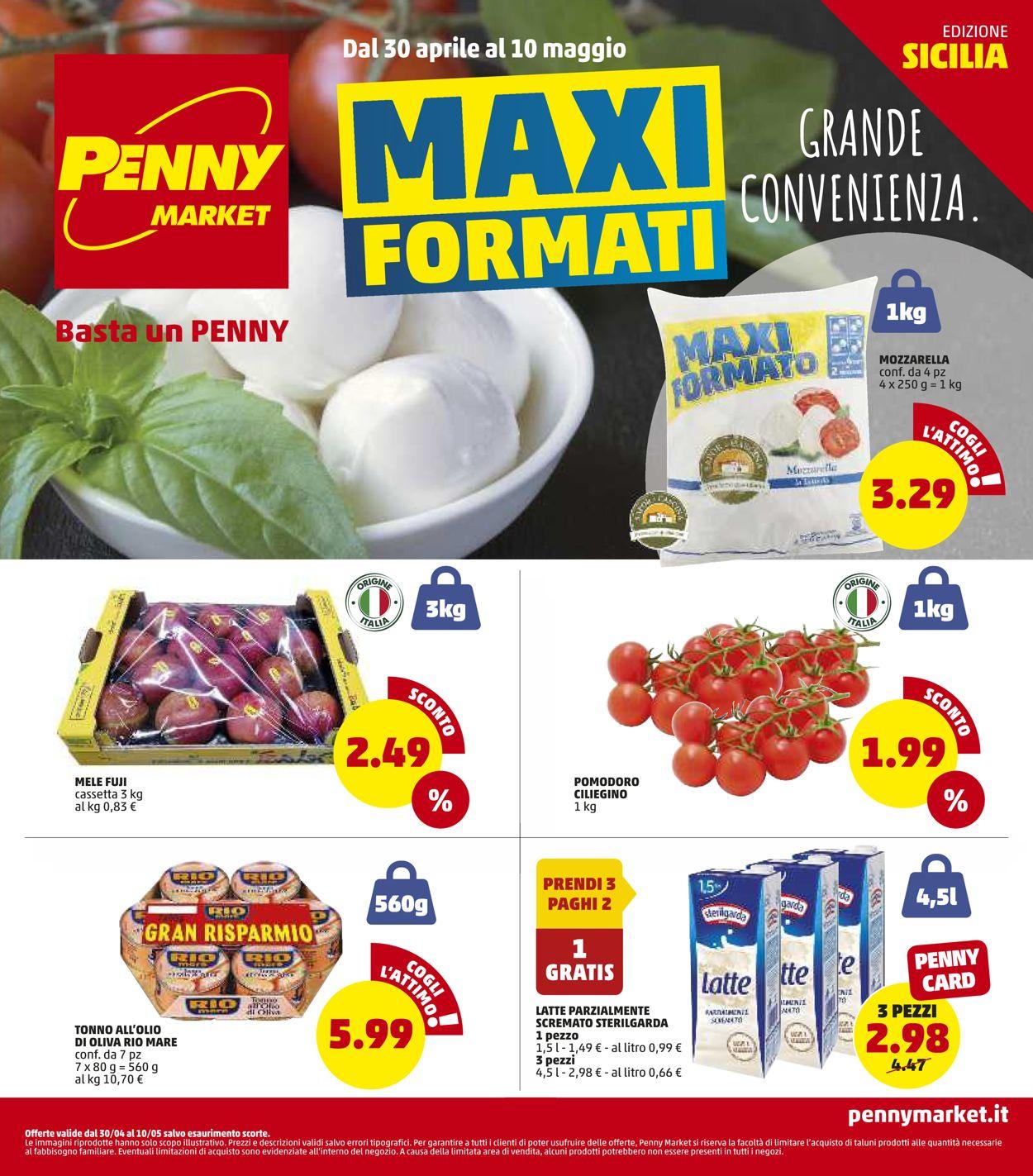 Volantino Penny Market - Offerte 30/04-10/05/2020