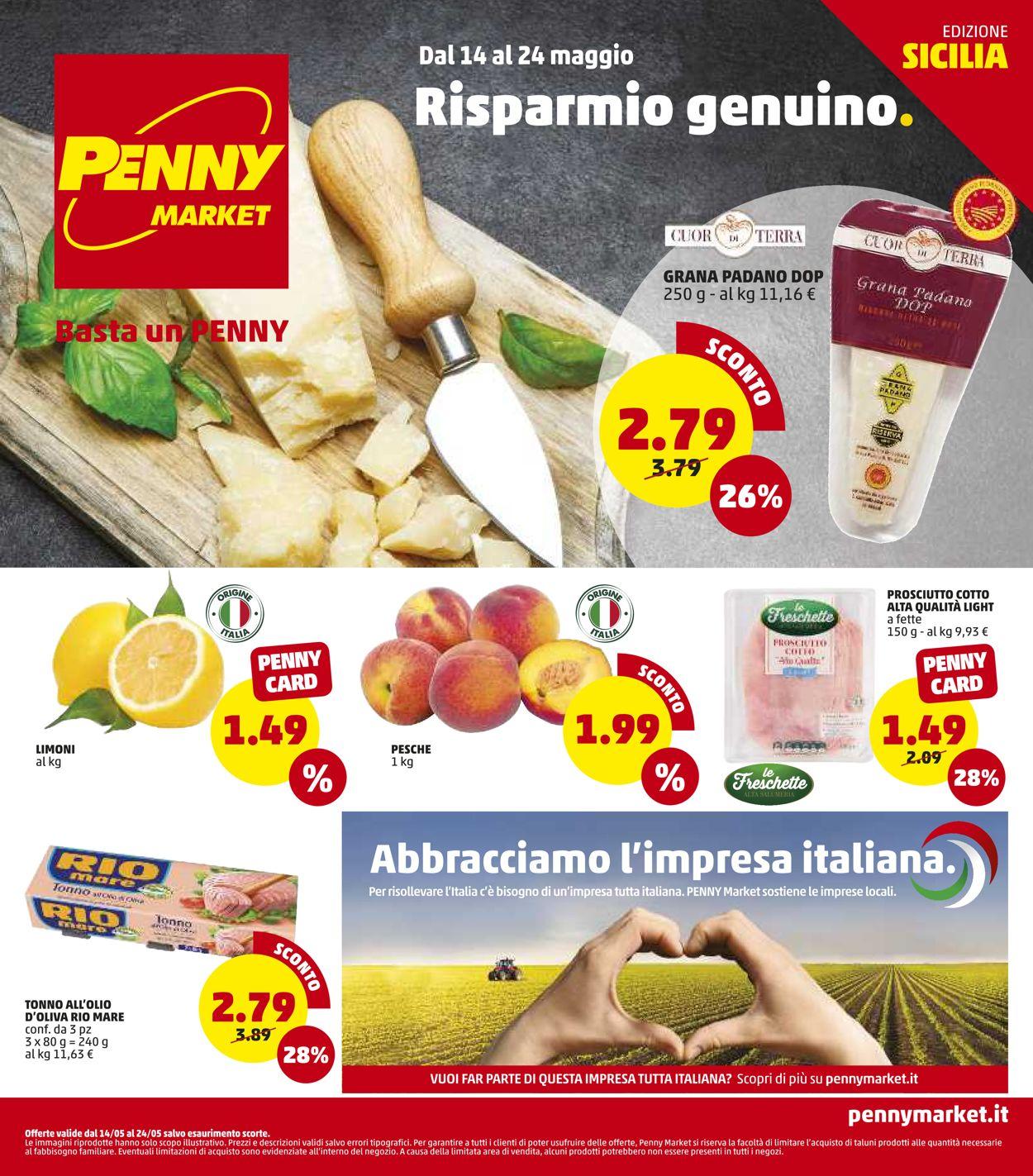 Volantino Penny Market - Offerte 14/05-24/05/2020
