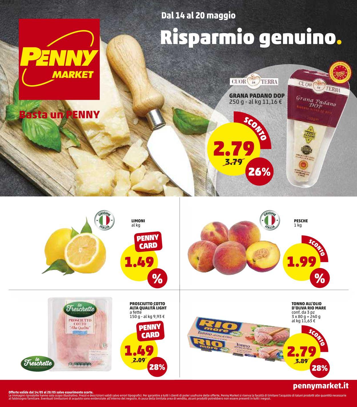 Volantino Penny Market - Offerte 14/05-20/05/2020