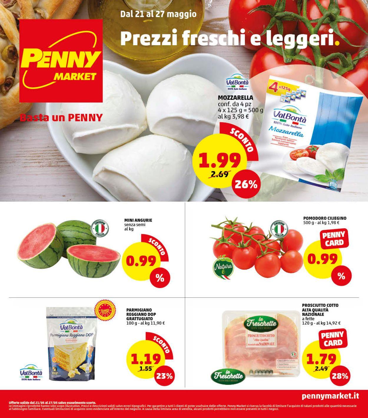 Volantino Penny Market - Offerte 21/05-27/05/2020