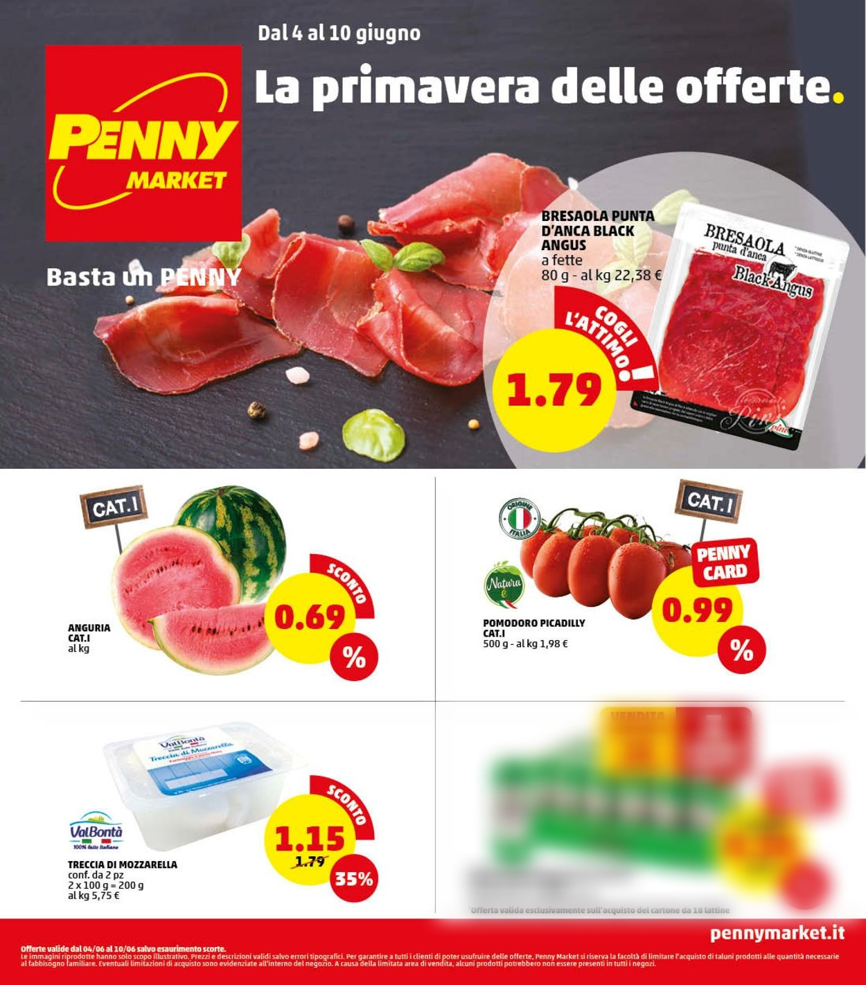 Volantino Penny Market - Offerte 04/06-10/06/2020