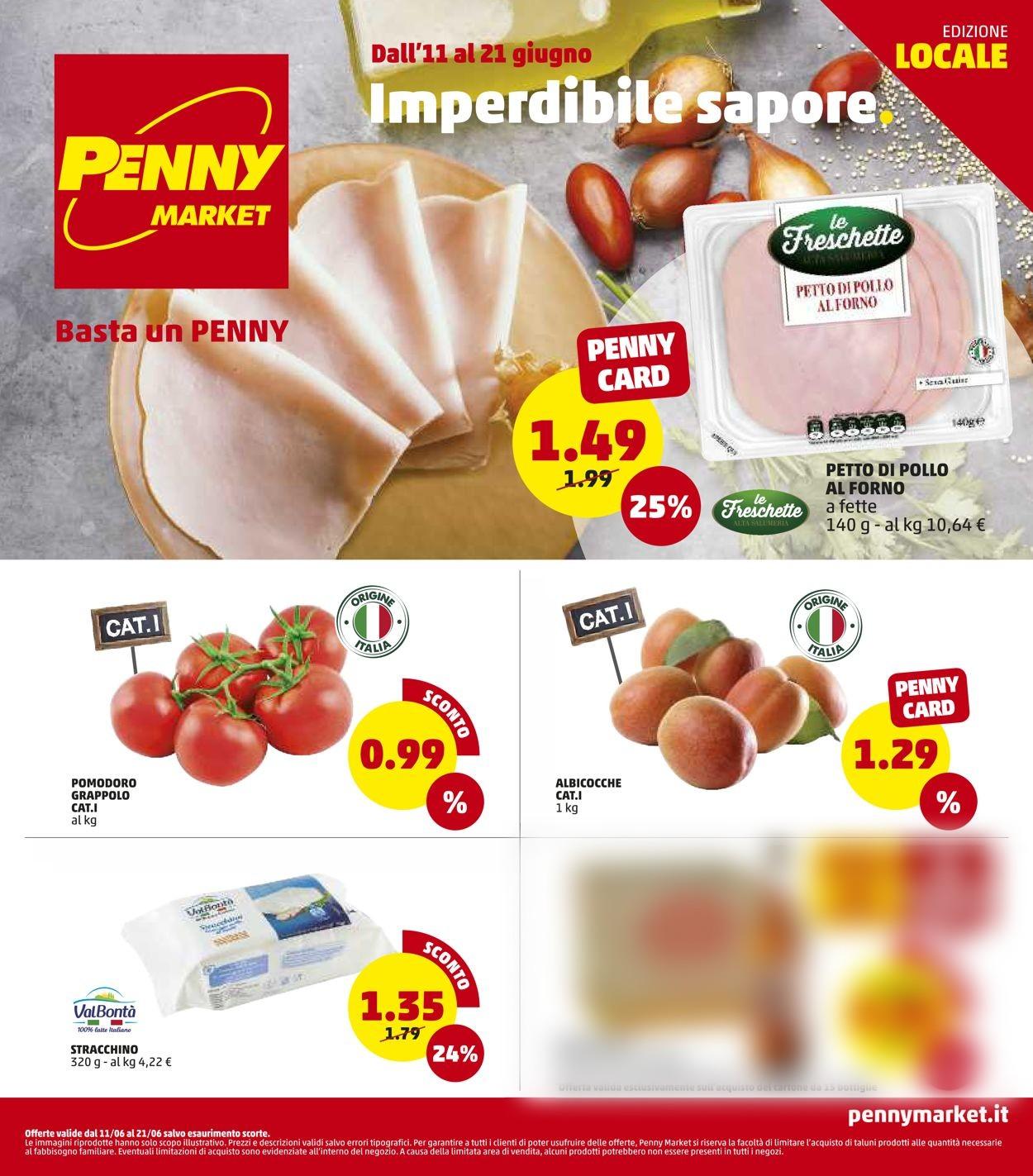 Volantino Penny Market - Offerte 11/06-21/06/2020
