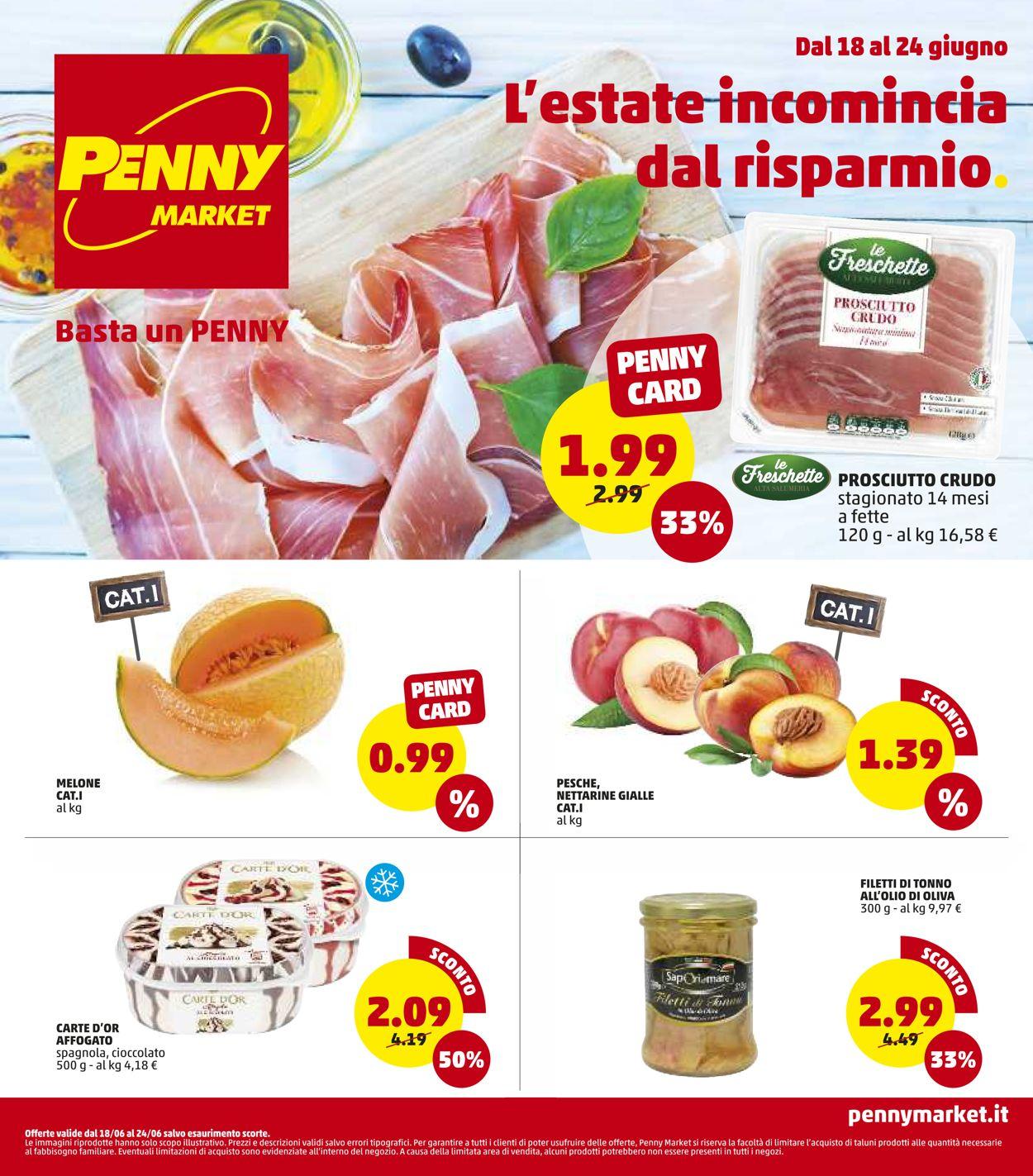 Volantino Penny Market - Offerte 18/06-24/06/2020