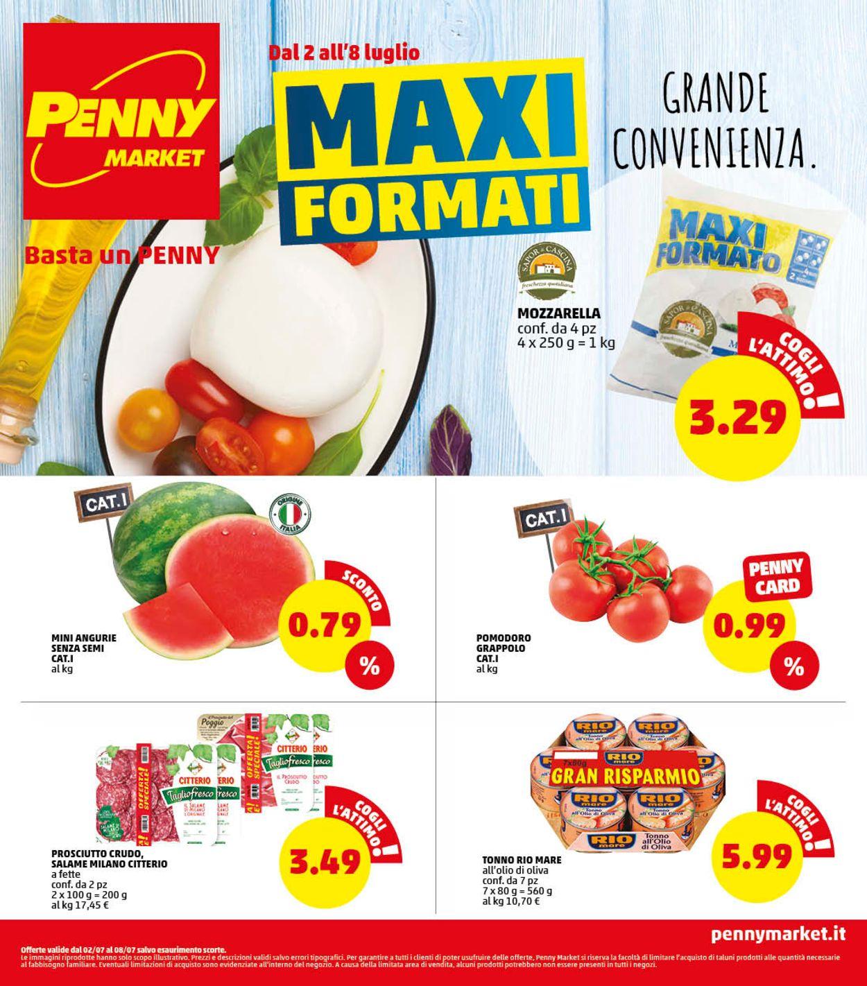 Volantino Penny Market - Offerte 02/07-08/07/2020