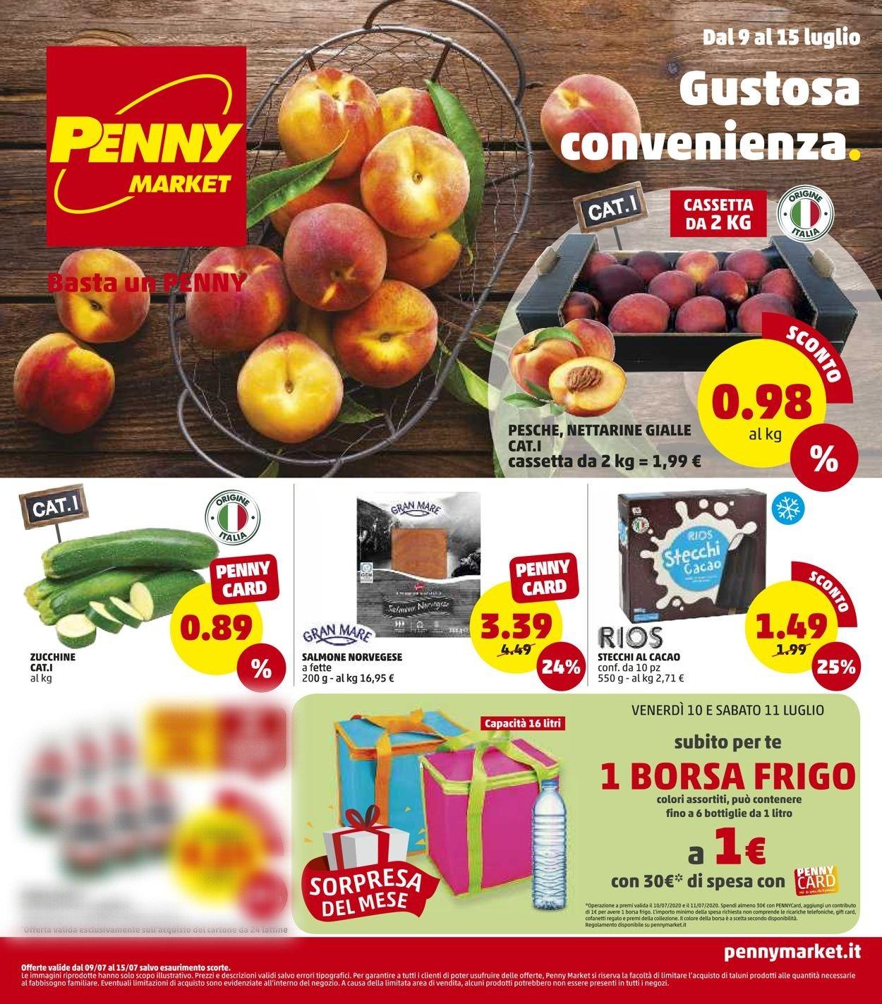 Volantino Penny Market - Offerte 09/07-15/07/2020